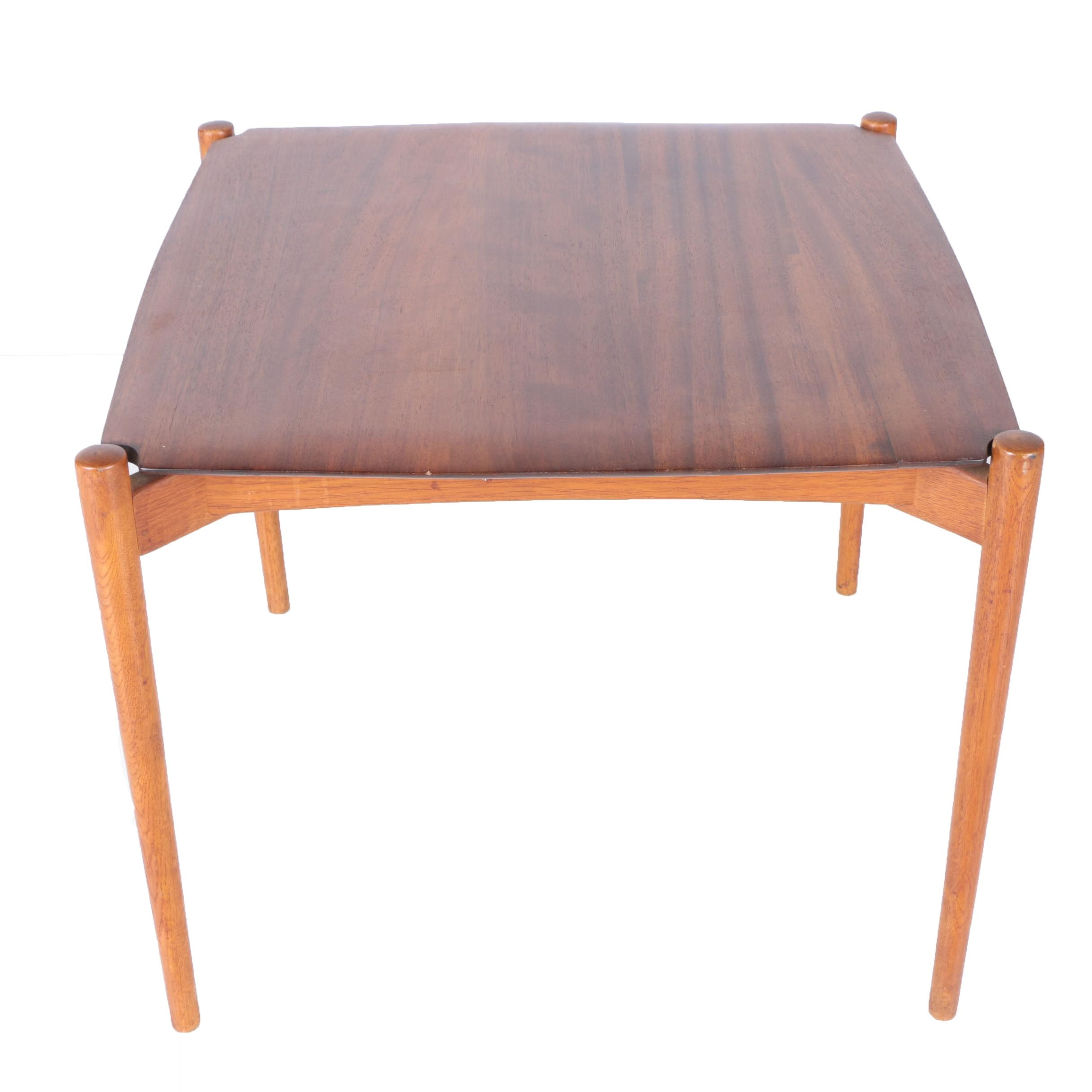 Mid Century Modern German Walnut Table