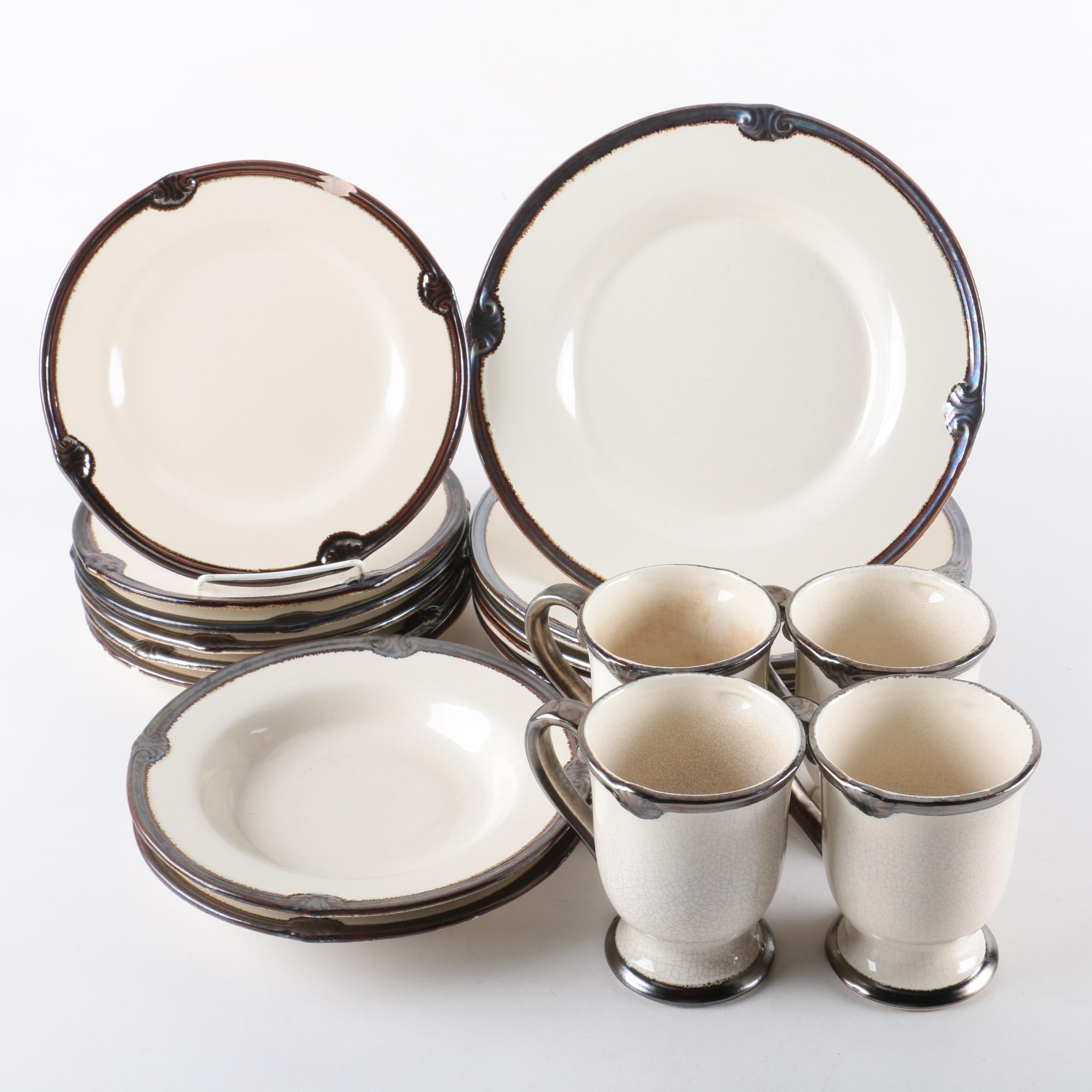 "Certified International ""Embassy Ivory"" Tableware"