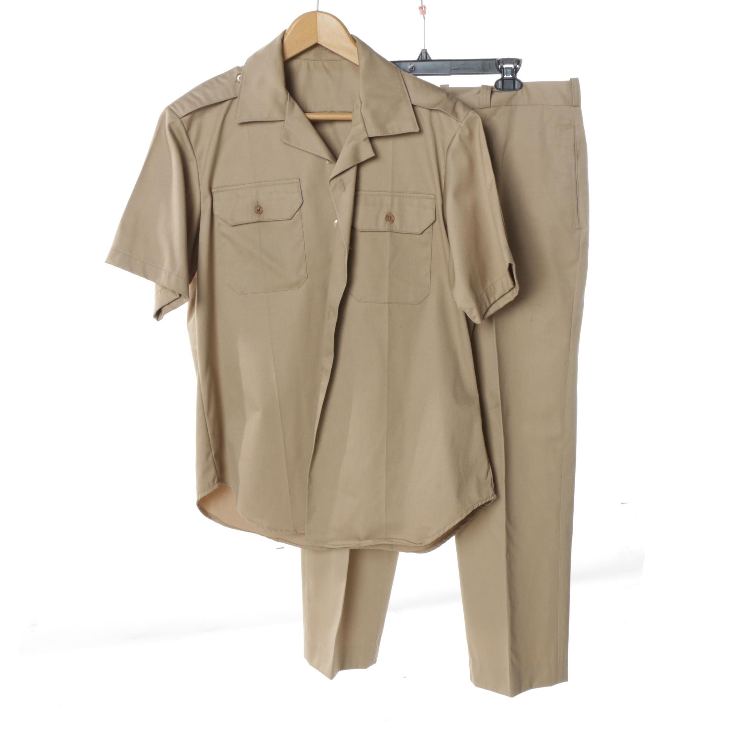 US Army Khaki Uniform Set