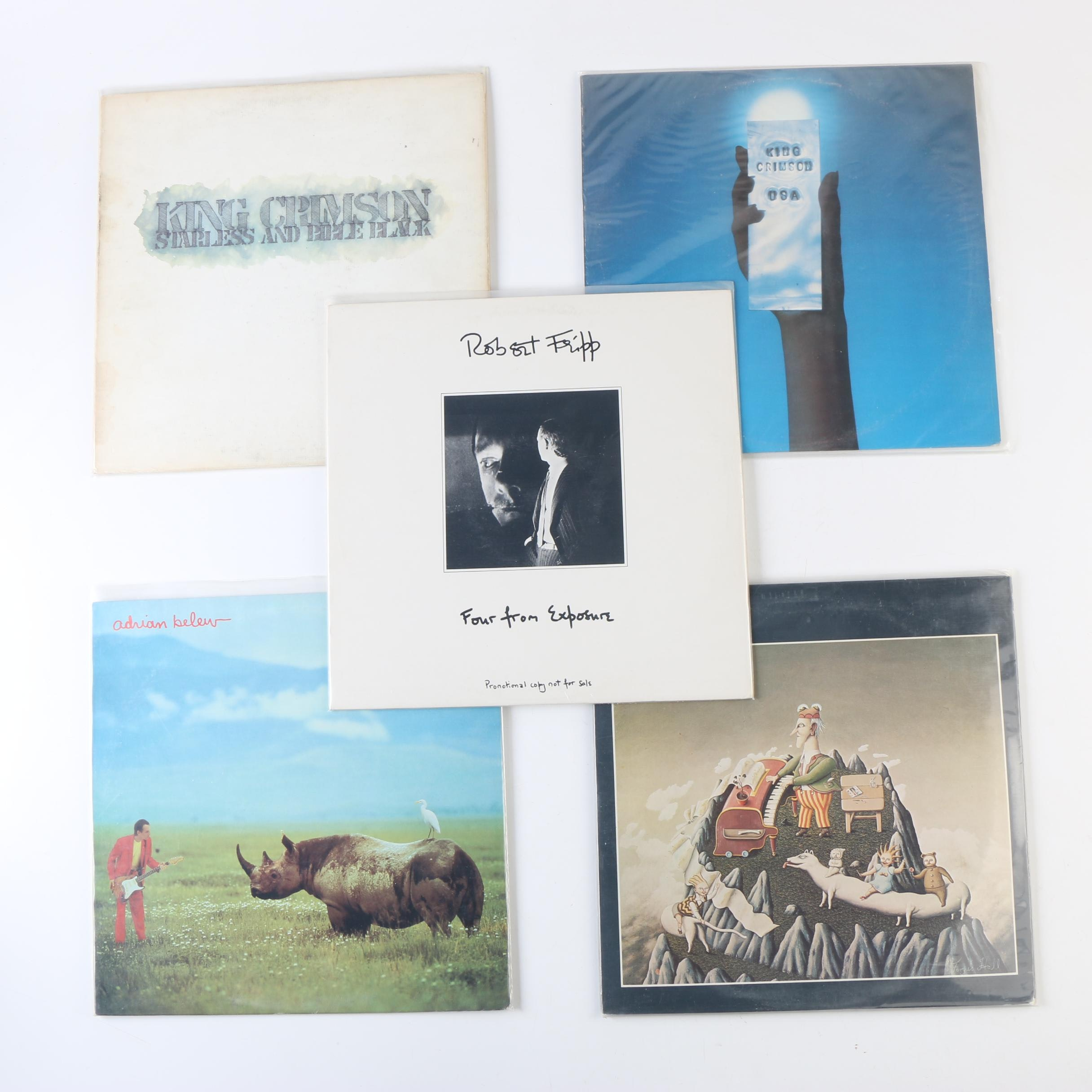 """King Crimson Records Including """"Starless And Bible Black"""" Misprinted US Pressing"""