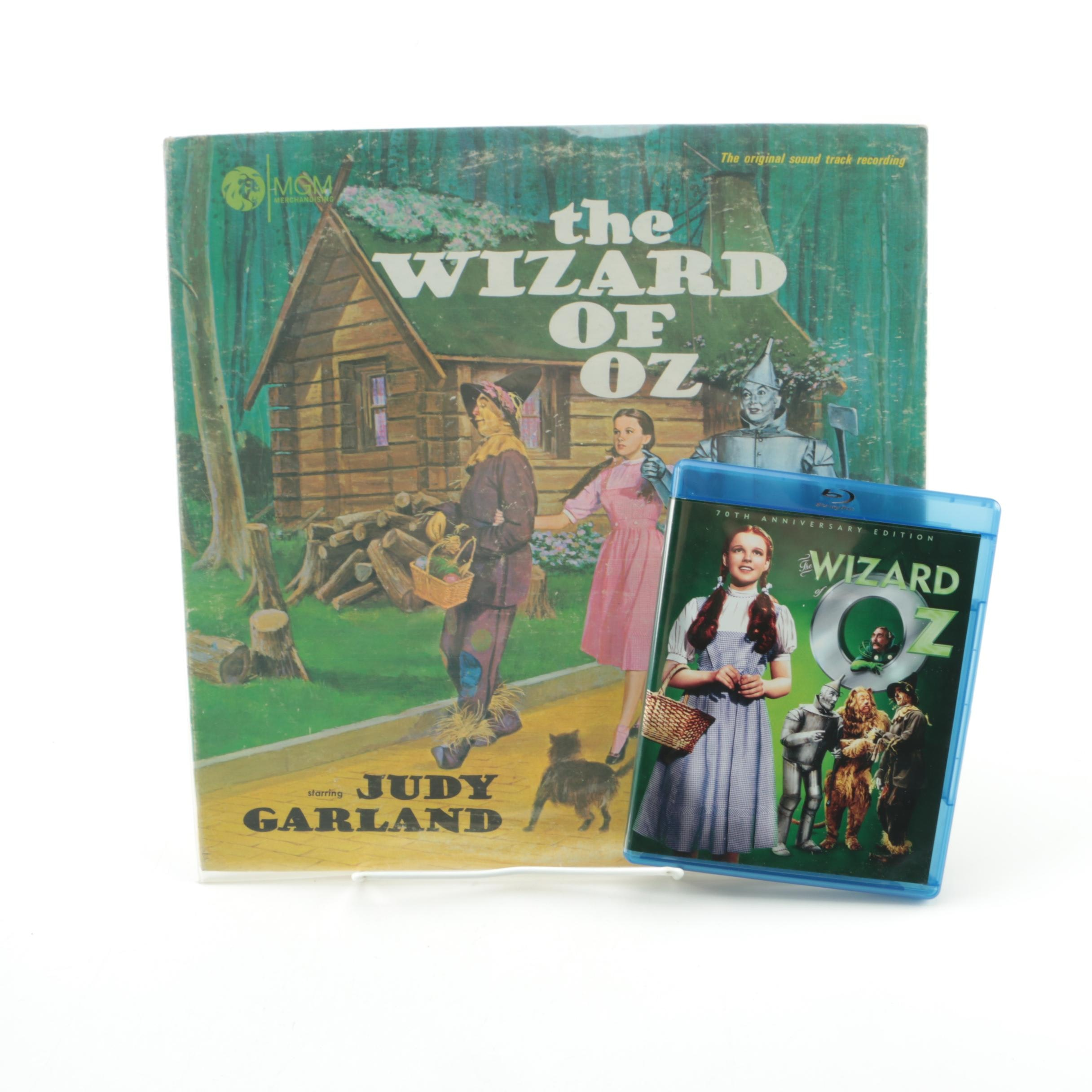 """The Wizard Of Oz"" Original Soundtrack Record and 70th Anniversary Blu-Ray"