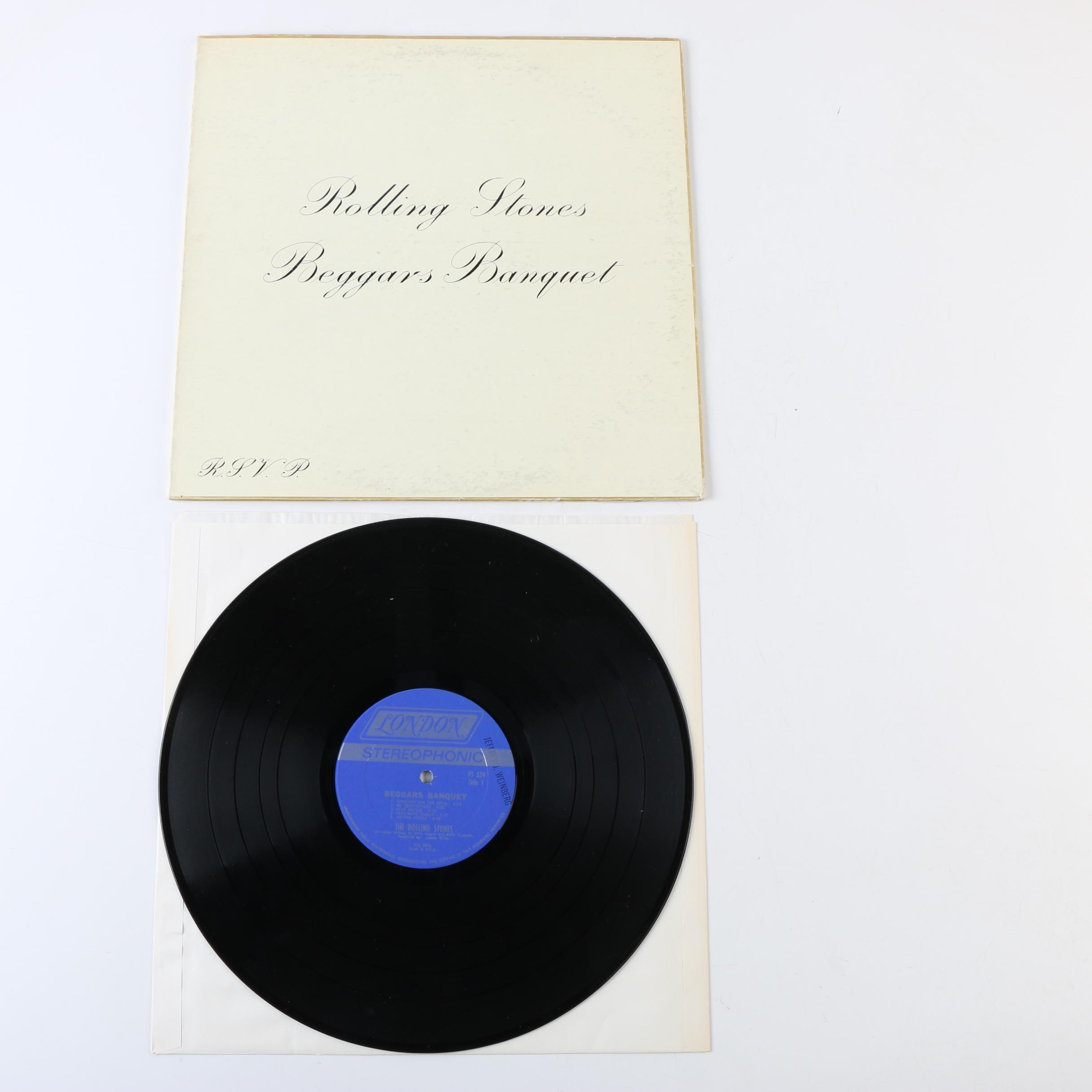 "The Rolling Stones ""Beggars Banquet"" Original U.S. Record Pressing"