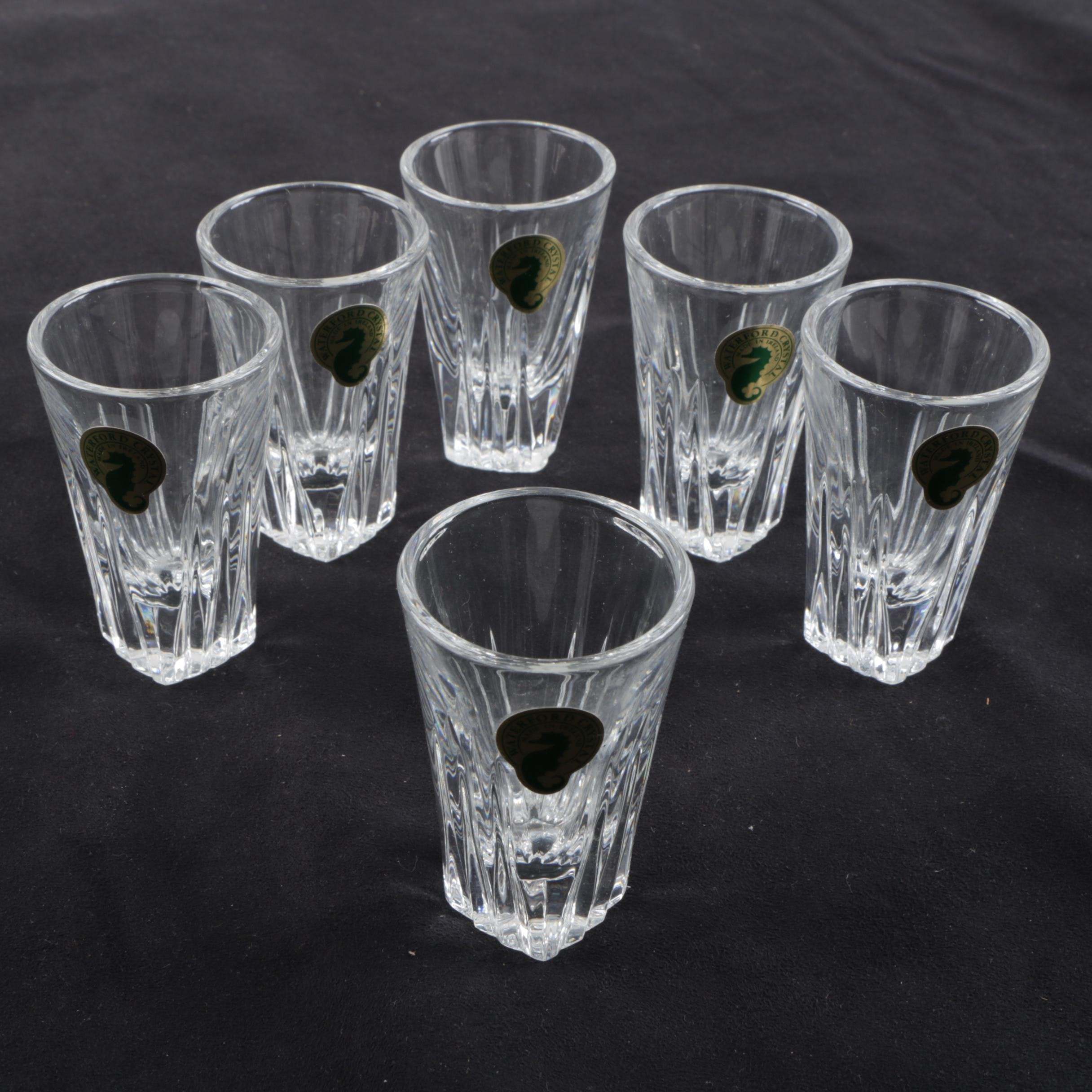 "Waterford Crystal ""Clarion"" Shot Glasses"