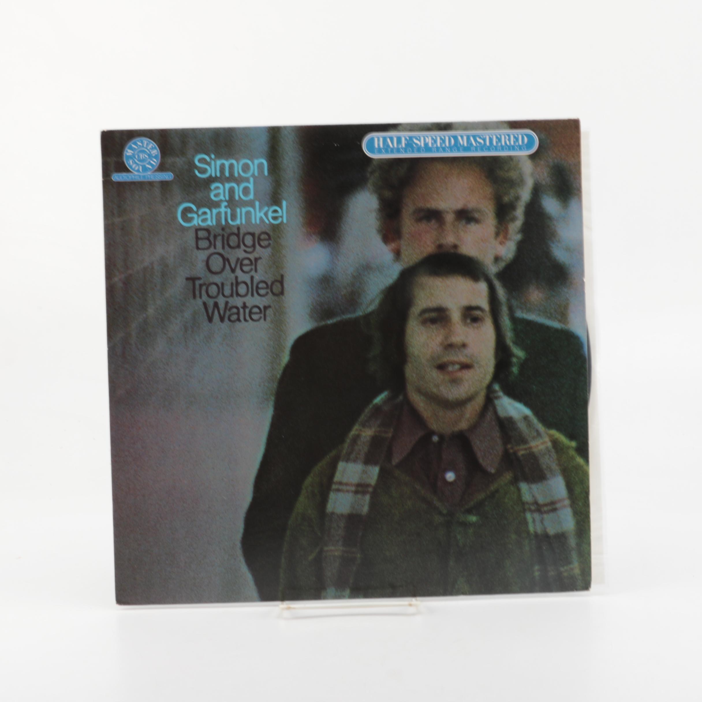 "Simon and Garfunkel ""Bridge Over Troubled Water"" Audiophile Record Pressing"