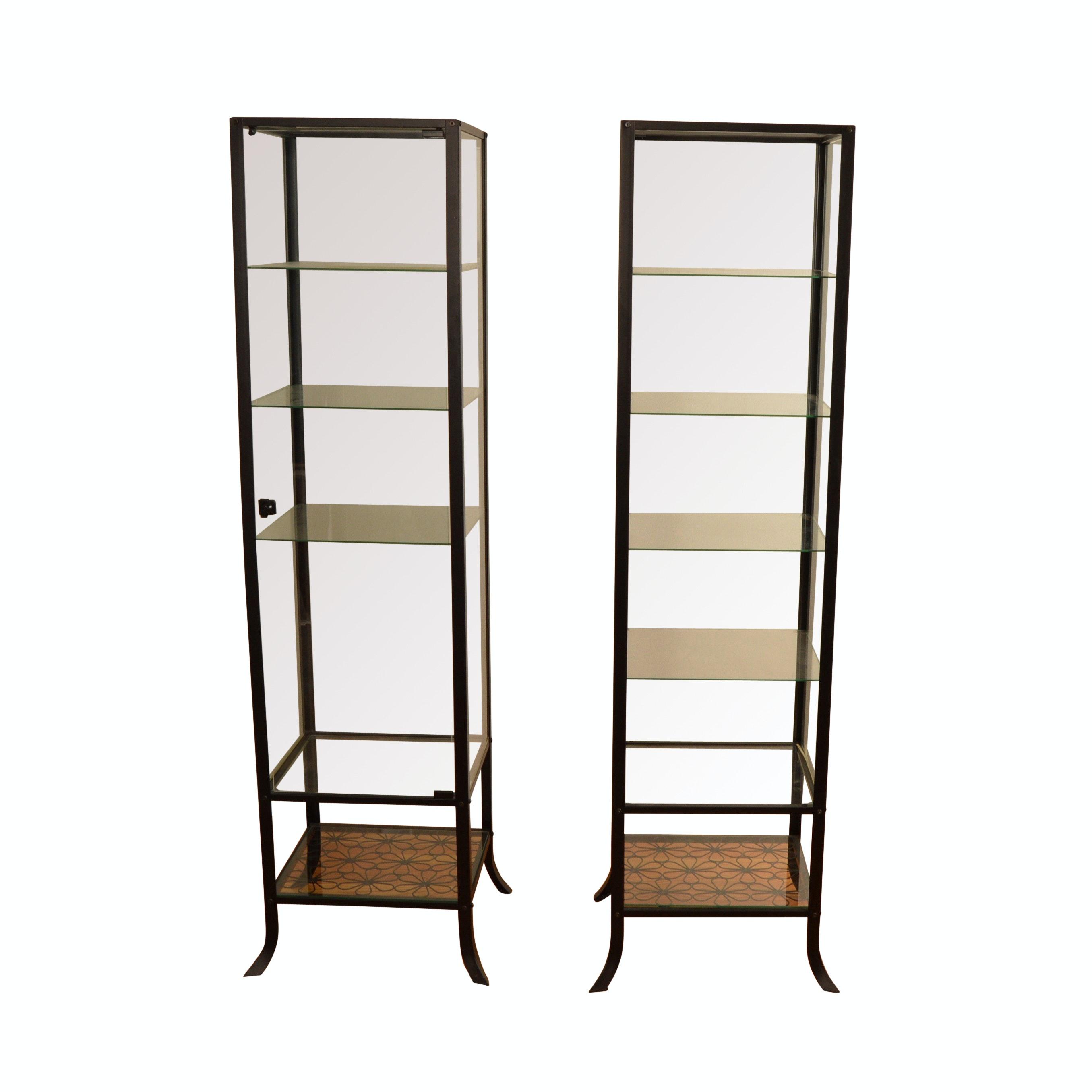 Pair of IKEA Klingsbo Display Cabinets