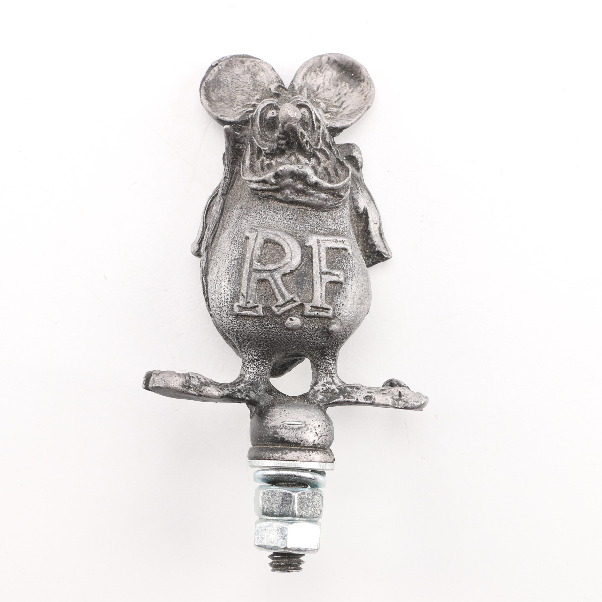 "Big Daddy Roth ""Rat Fink"" Car Hood Ornament"