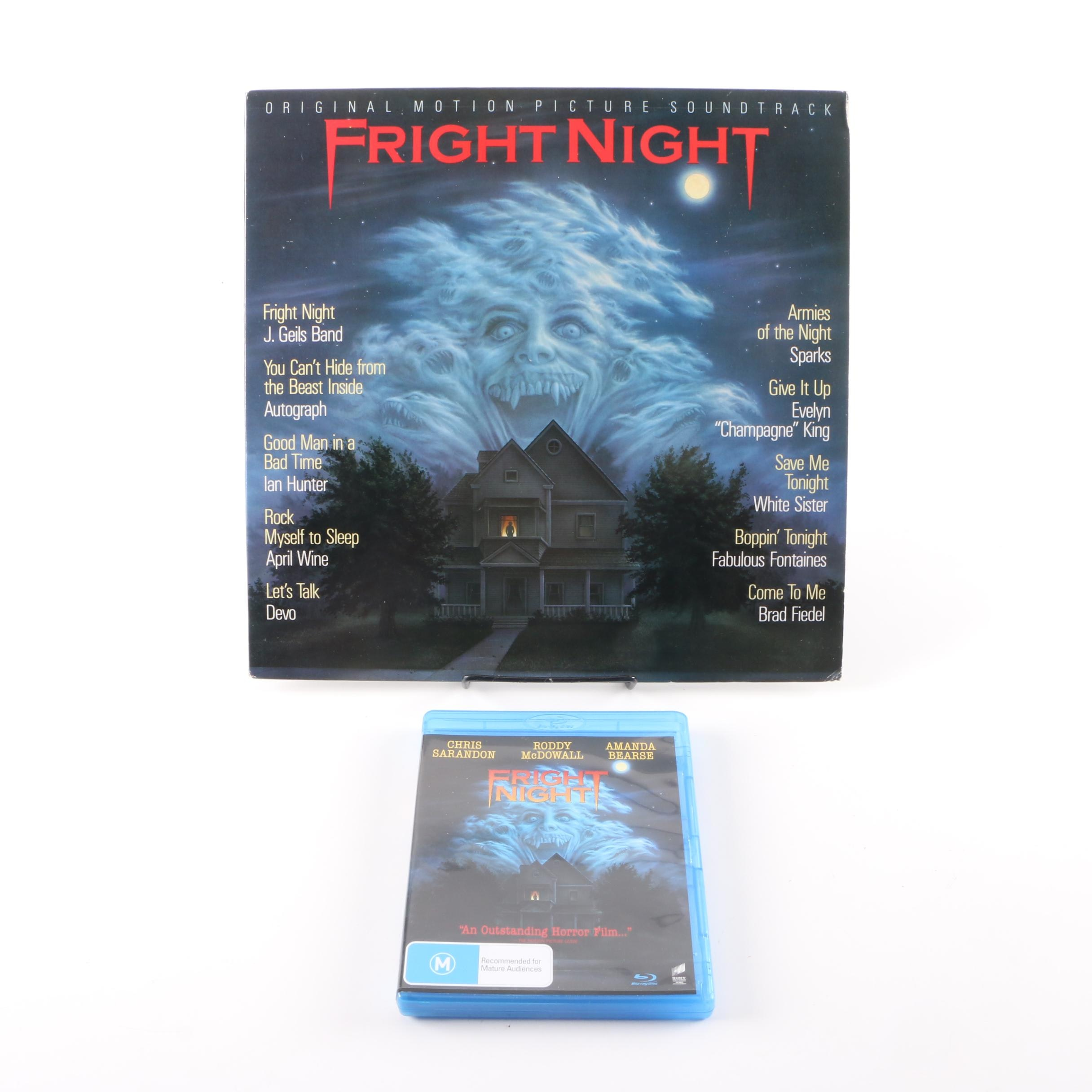 """""""Fright Night"""" Original Motion Picture Soundtrack Record and Blu-Ray"""