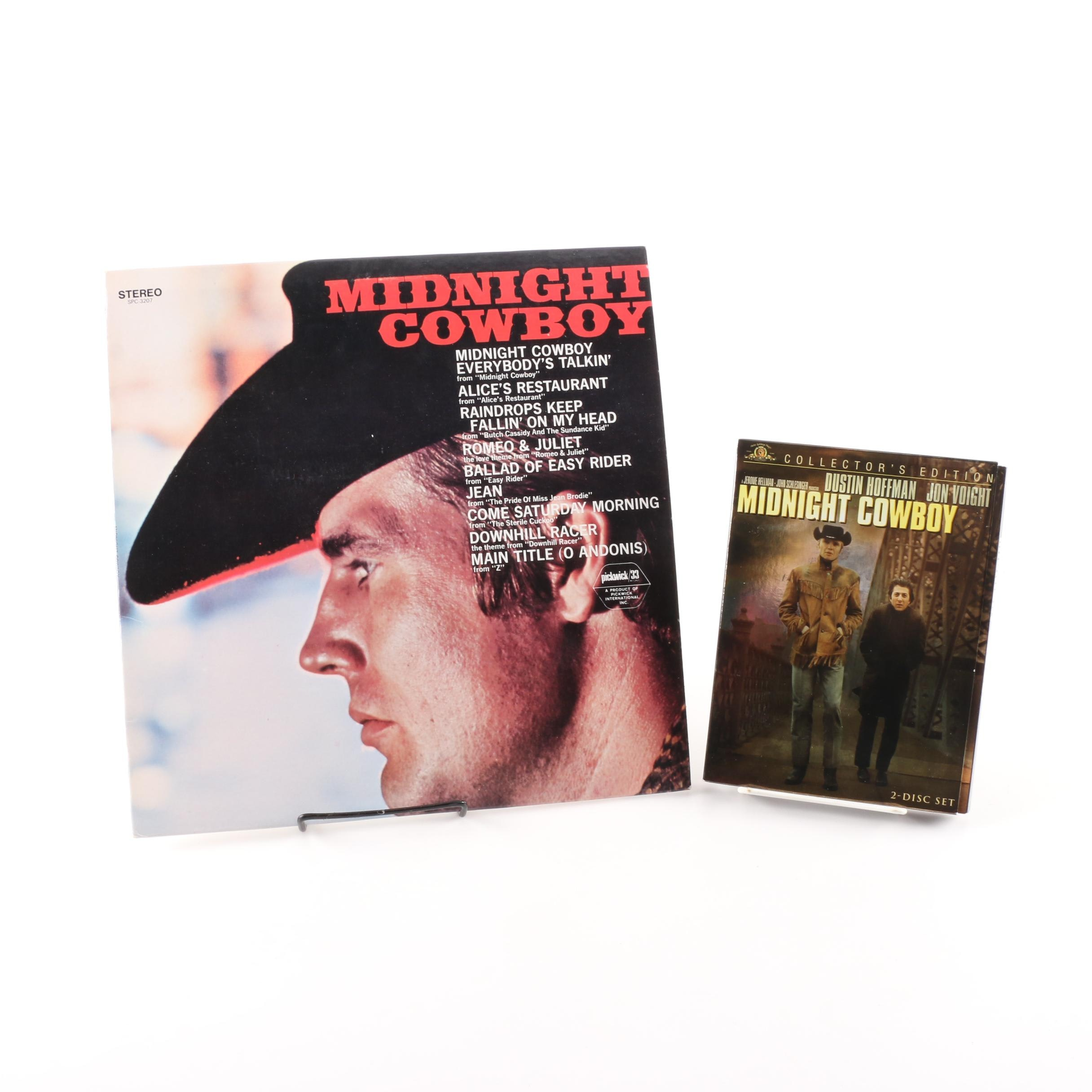 """""""Midnight Cowboy"""" Soundtrack Record and Collector's Edition DVD"""