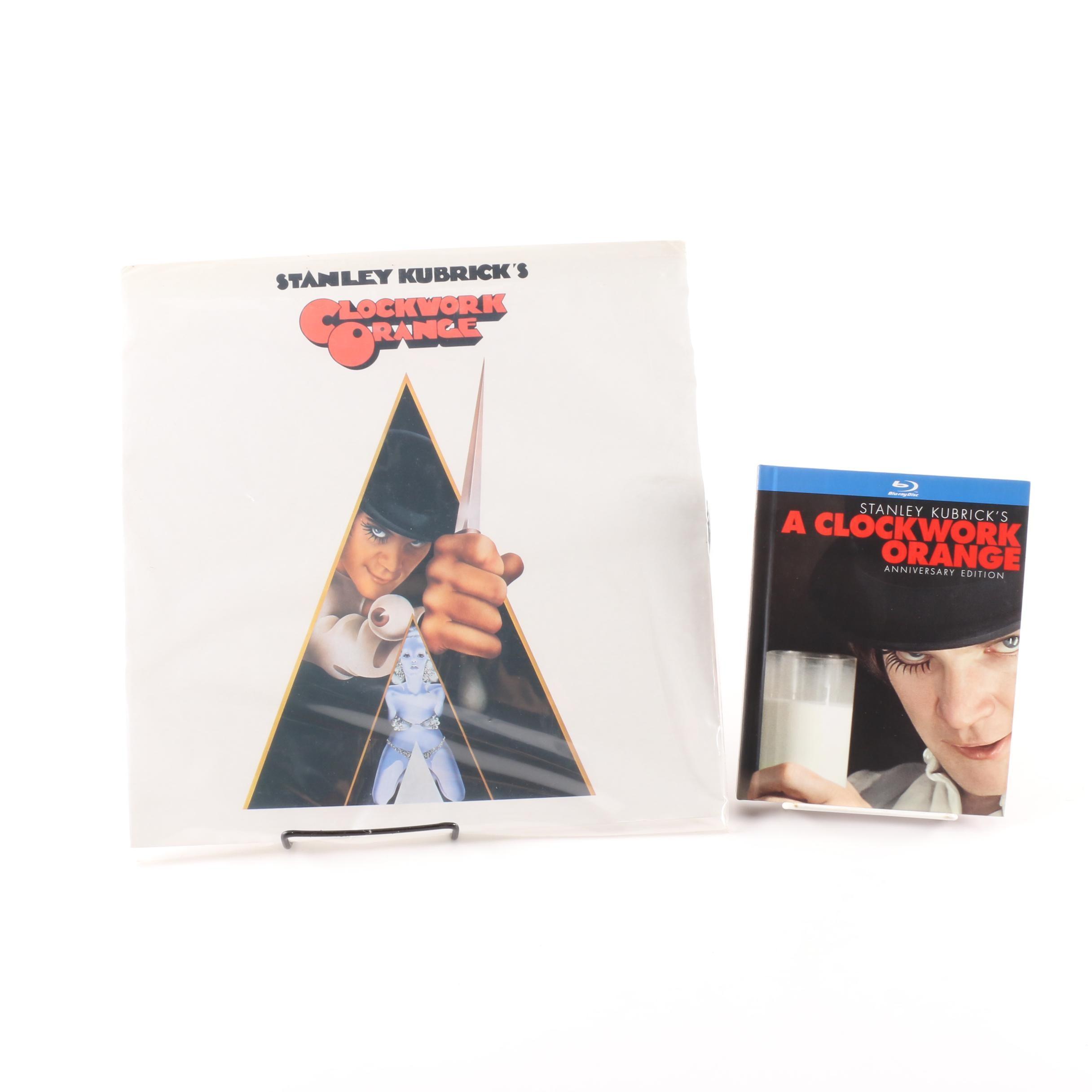 """A Clockwork Orange"" Soundtrack Record and Anniversary Edition Blu-Ray"