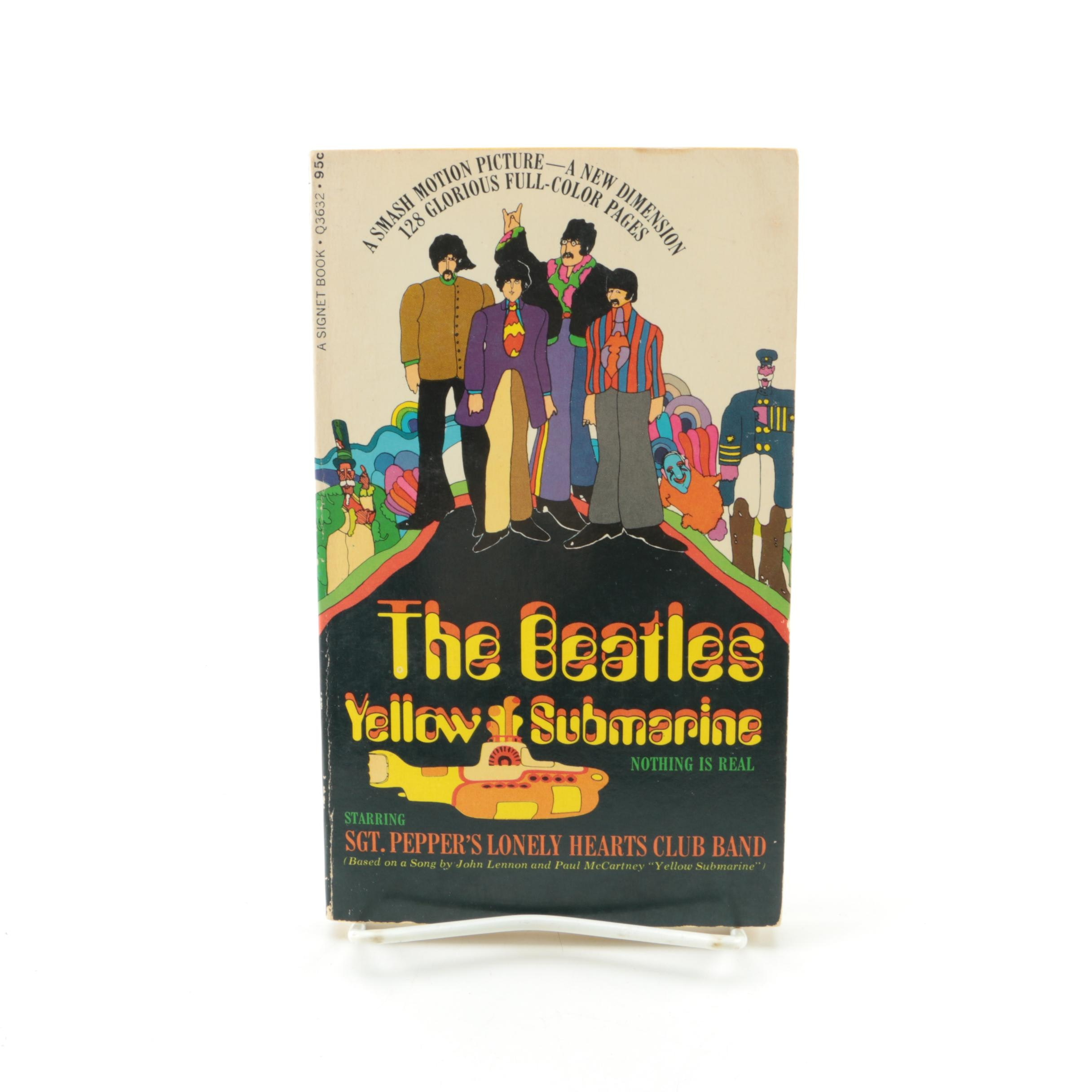 "1968 First Edition ""The Beatles Yellow Submarine"""
