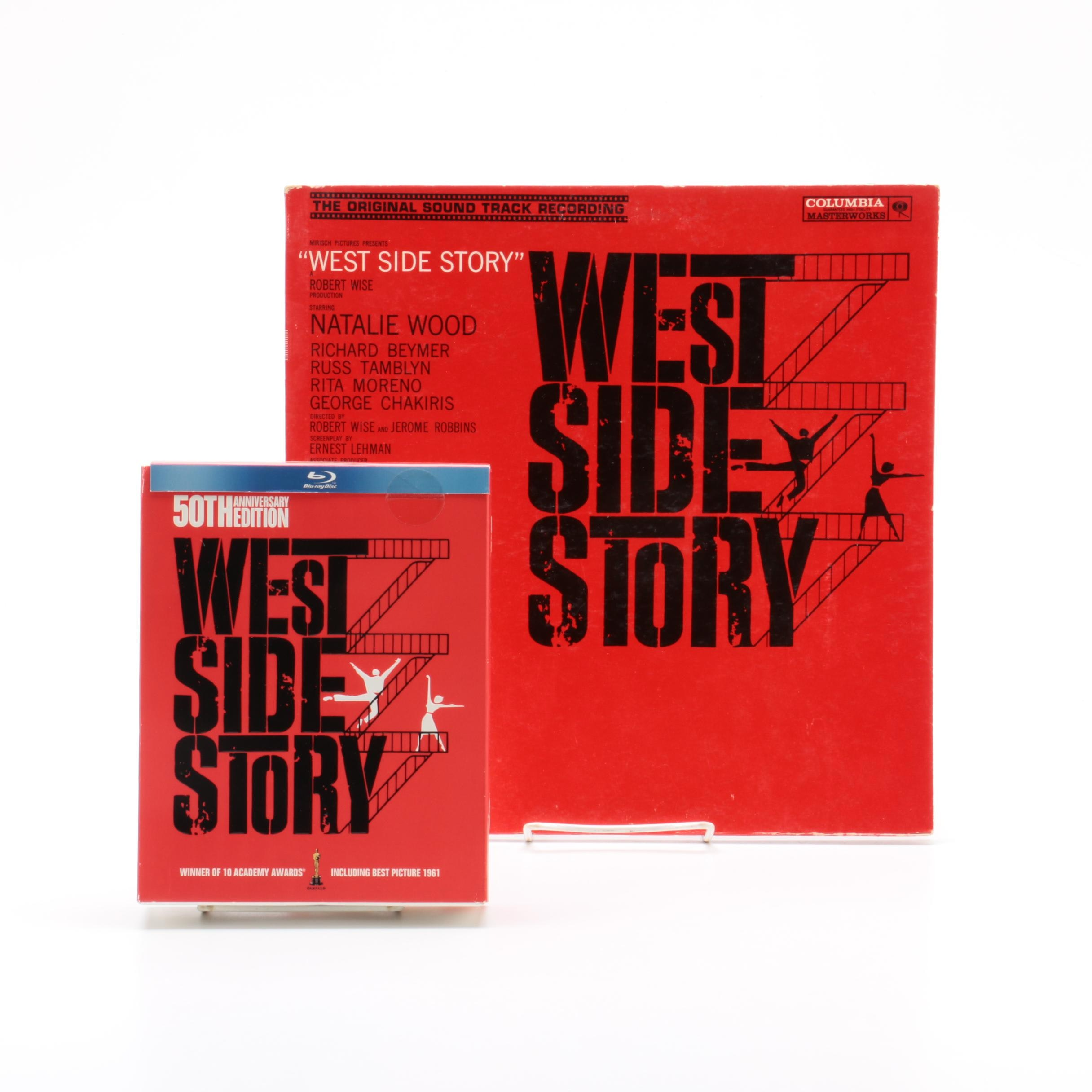 """""""West Side Story"""" Original Soundtrack Record with 50th Anniversary Blu-Ray"""