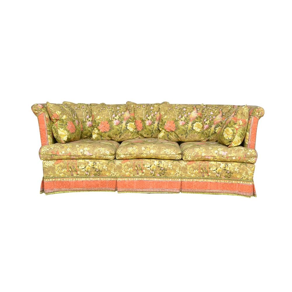 Hollywood Regency Style Sofa by Debut Gallery