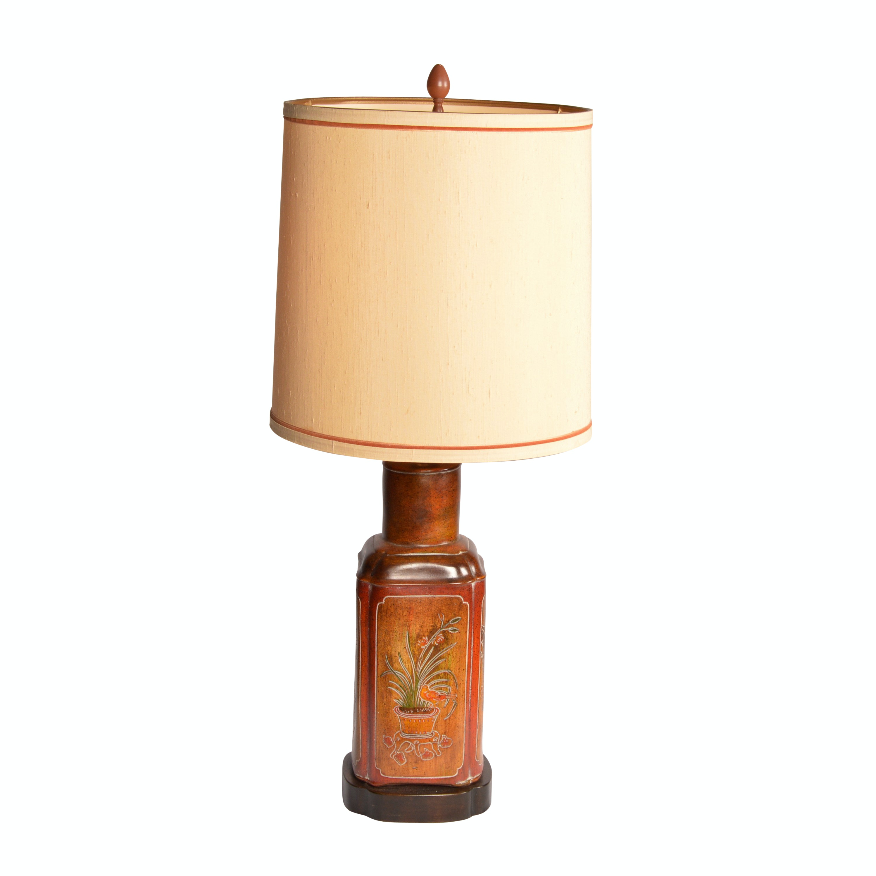 Ceramic Chinese Inspired Table Lamp