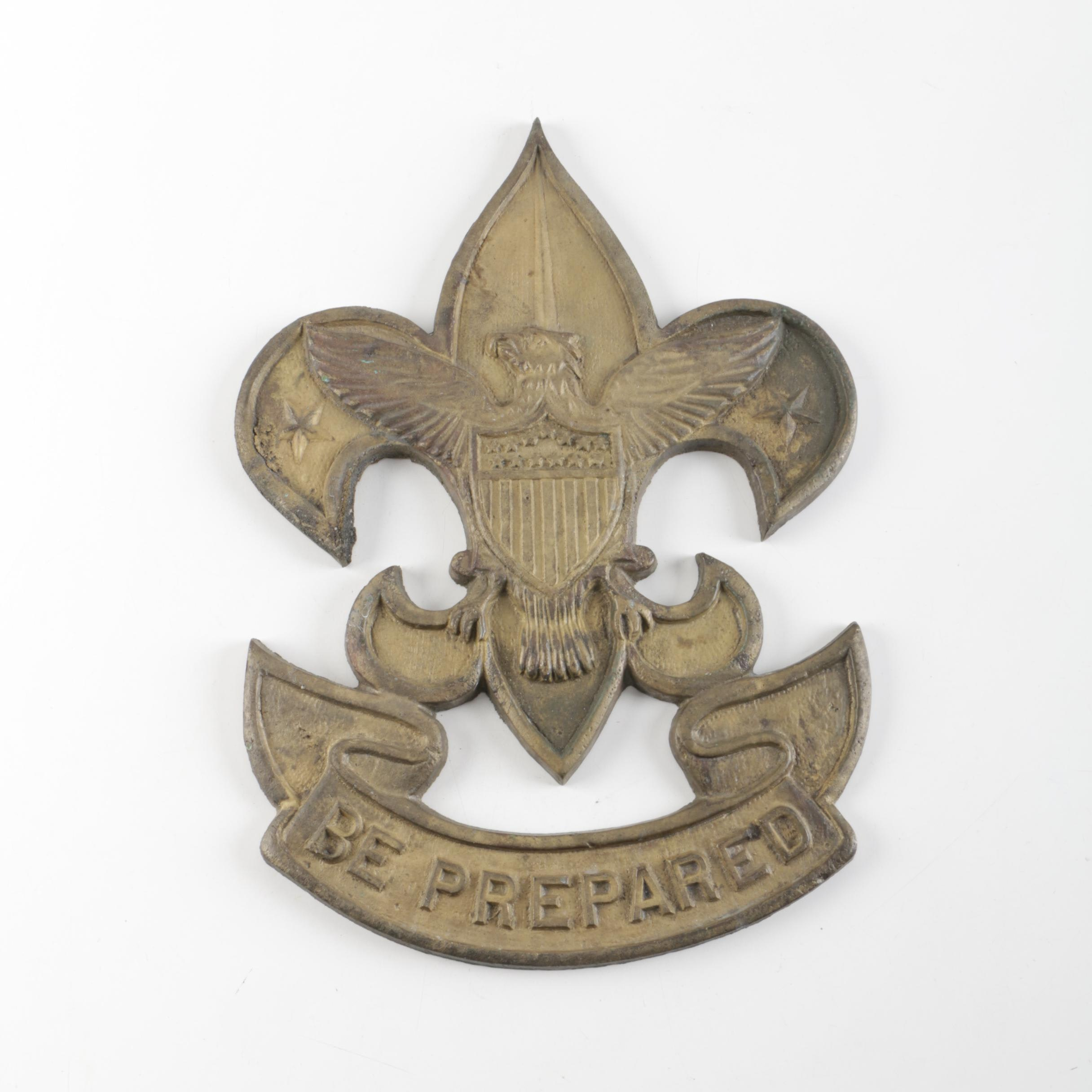 Cast Iron Boy Scouts of America Seal
