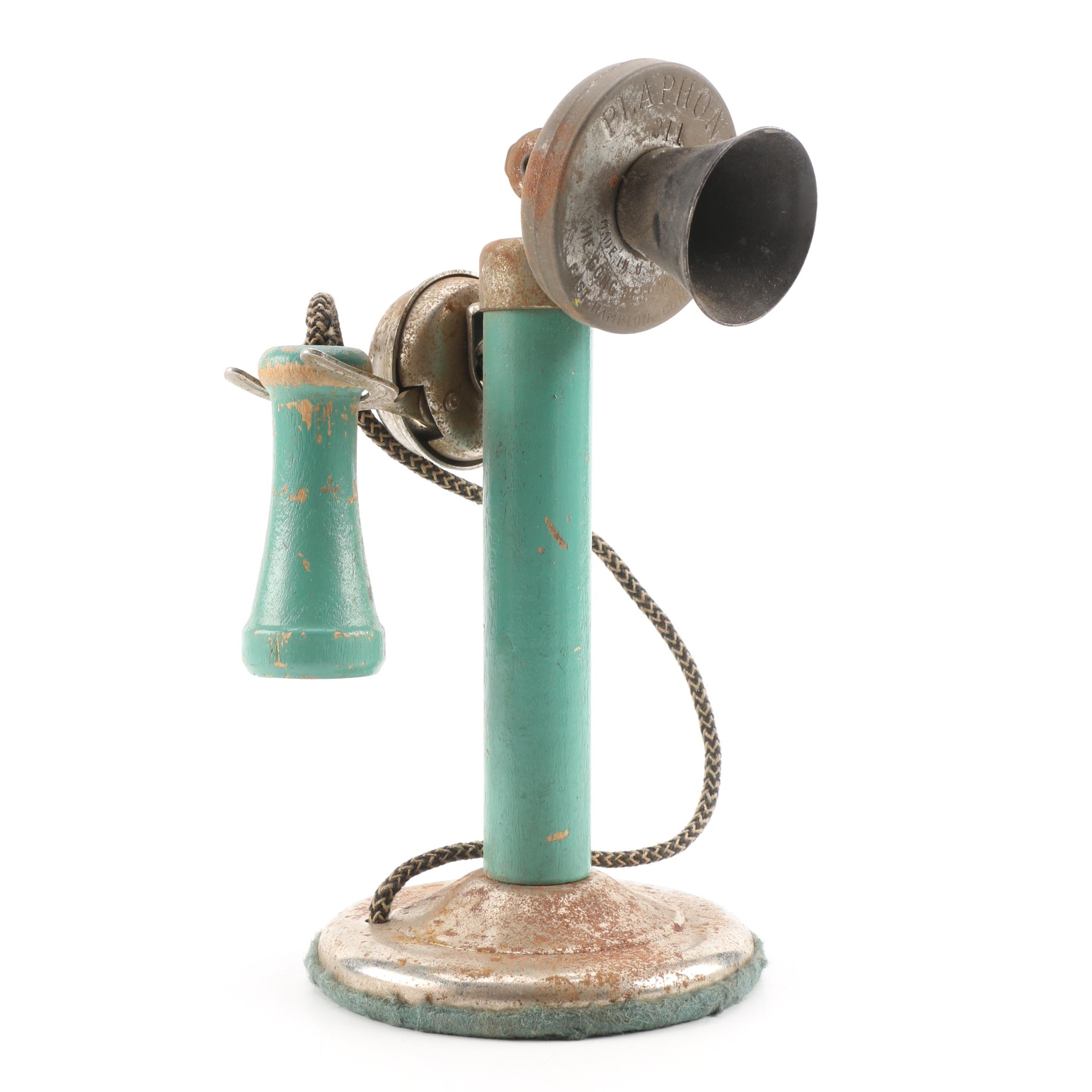 1920s Toy Telephone by The Gong Bell