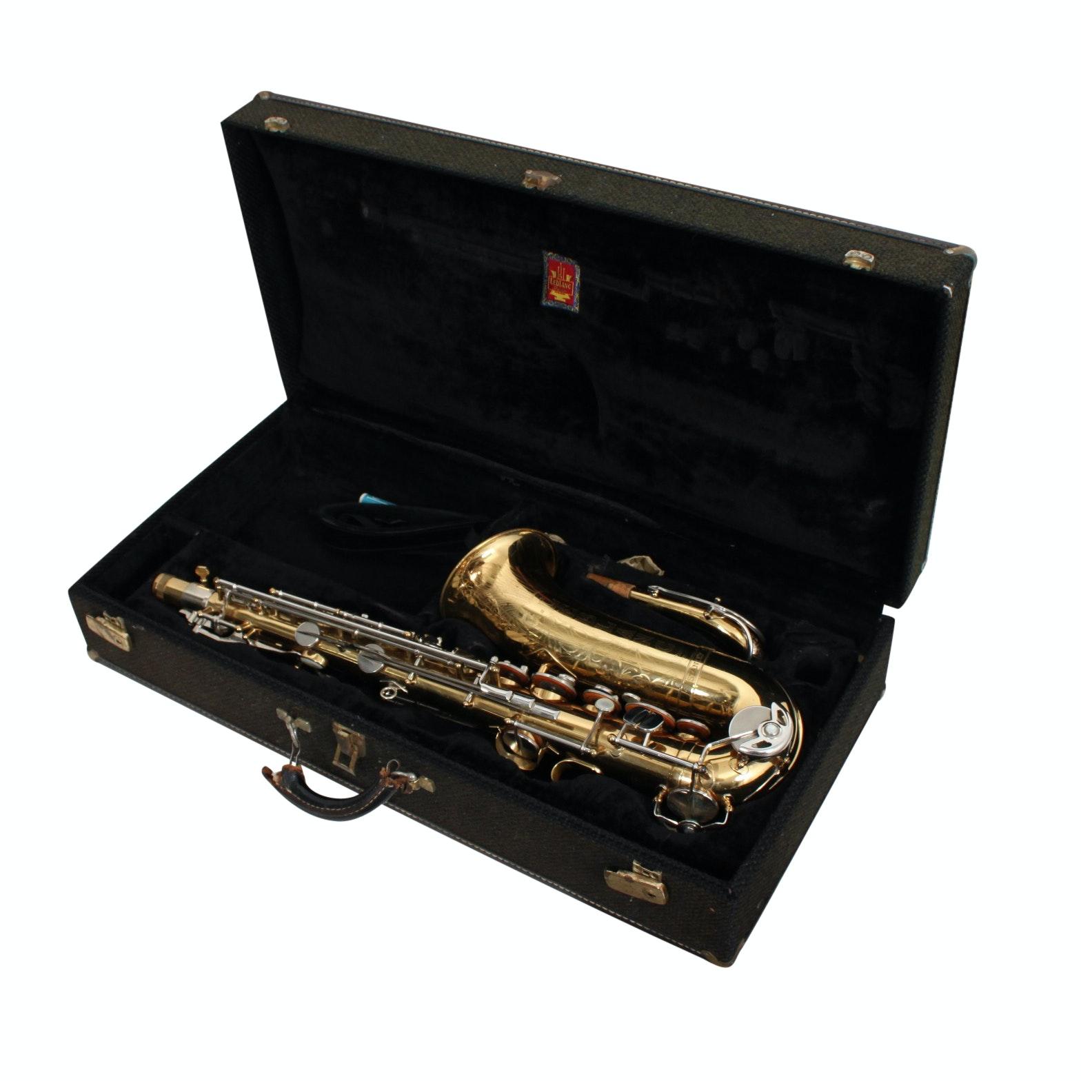 Custom LeBlanc Alto Saxophone with Case