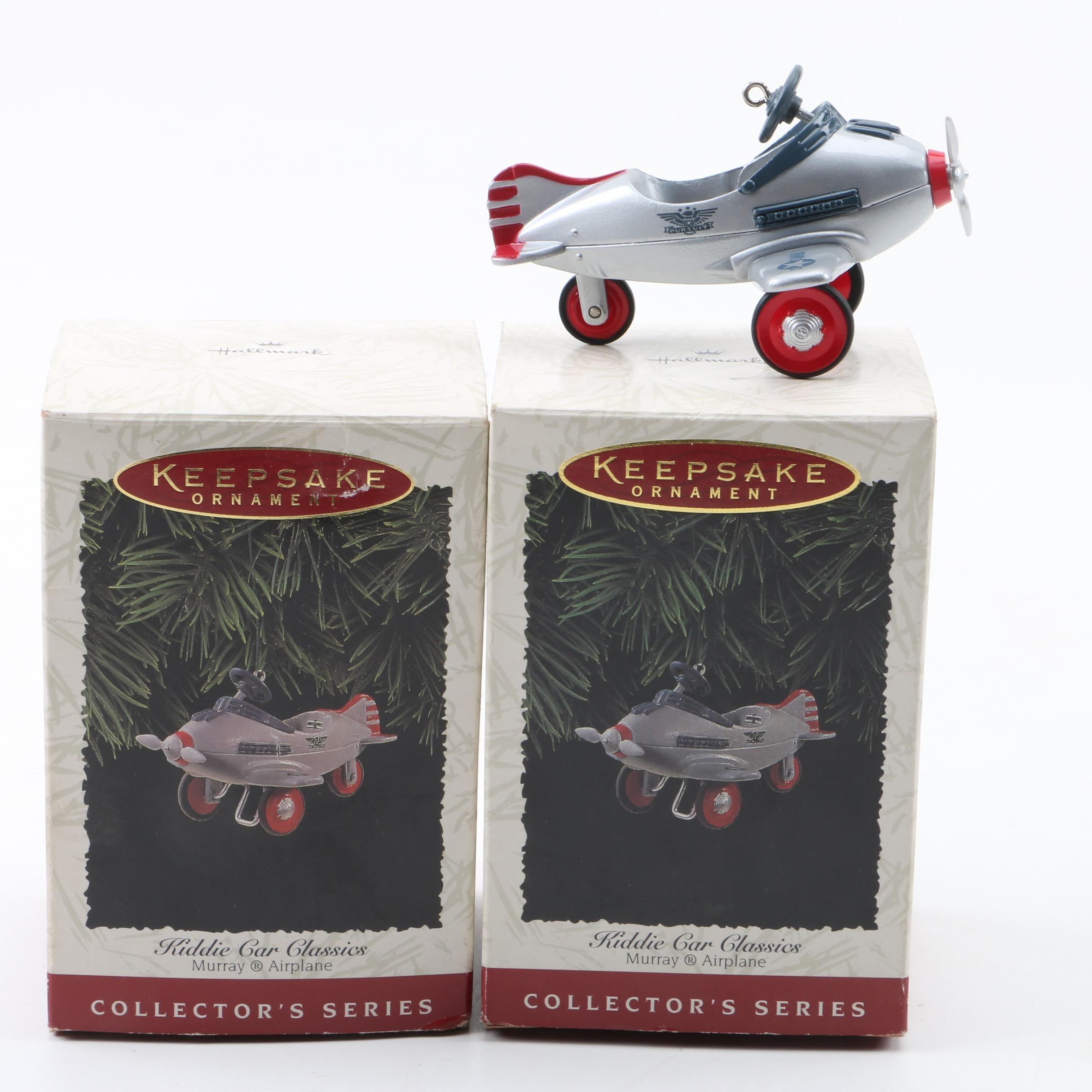 Keepsake Kiddie Car Classics Murray Airplane Ornaments