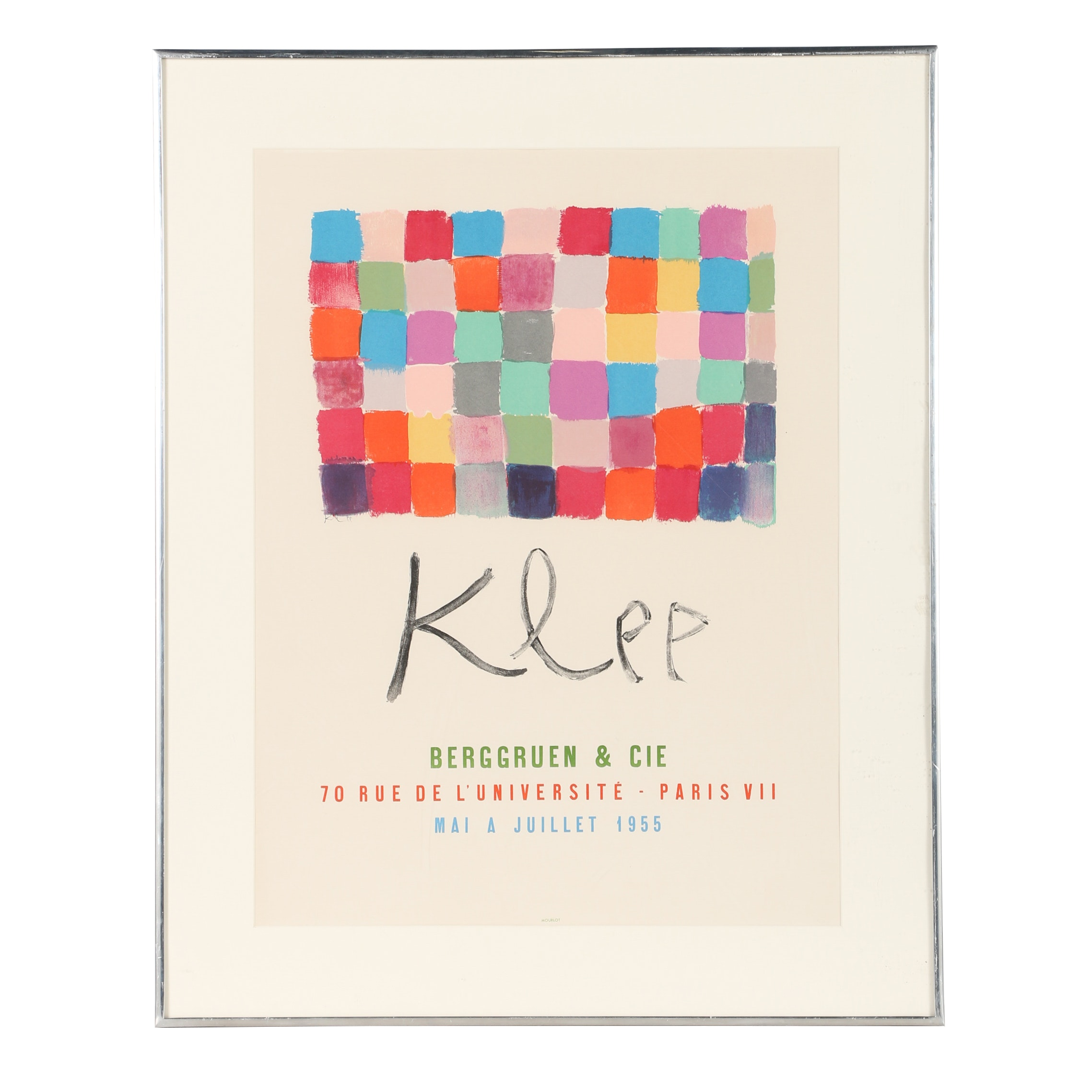After Paul Klee Giclée Poster for The Klee Exhibition at Berggruen & Cie