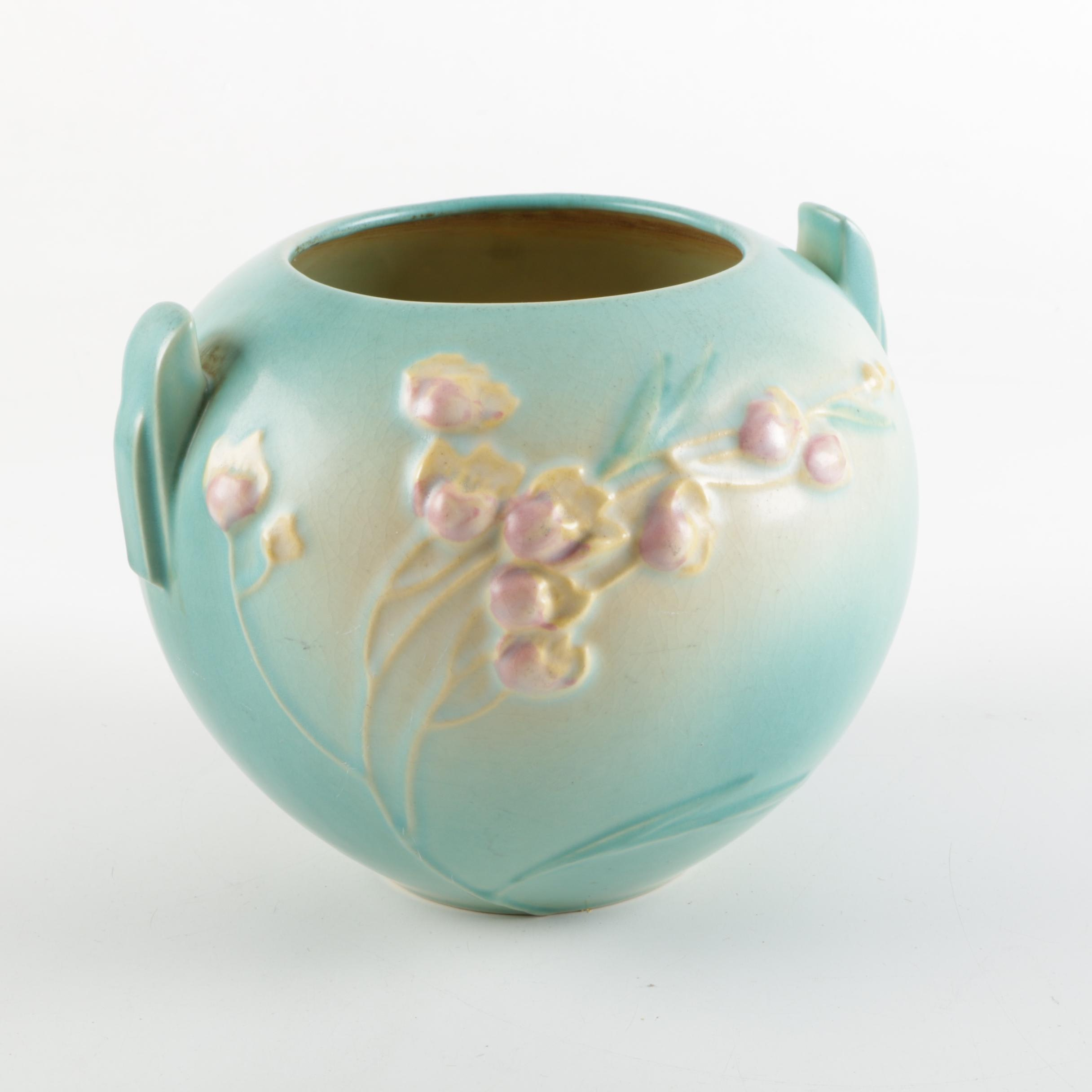 "Small Roseville Pottery ""Ixia"" Jardiniere"