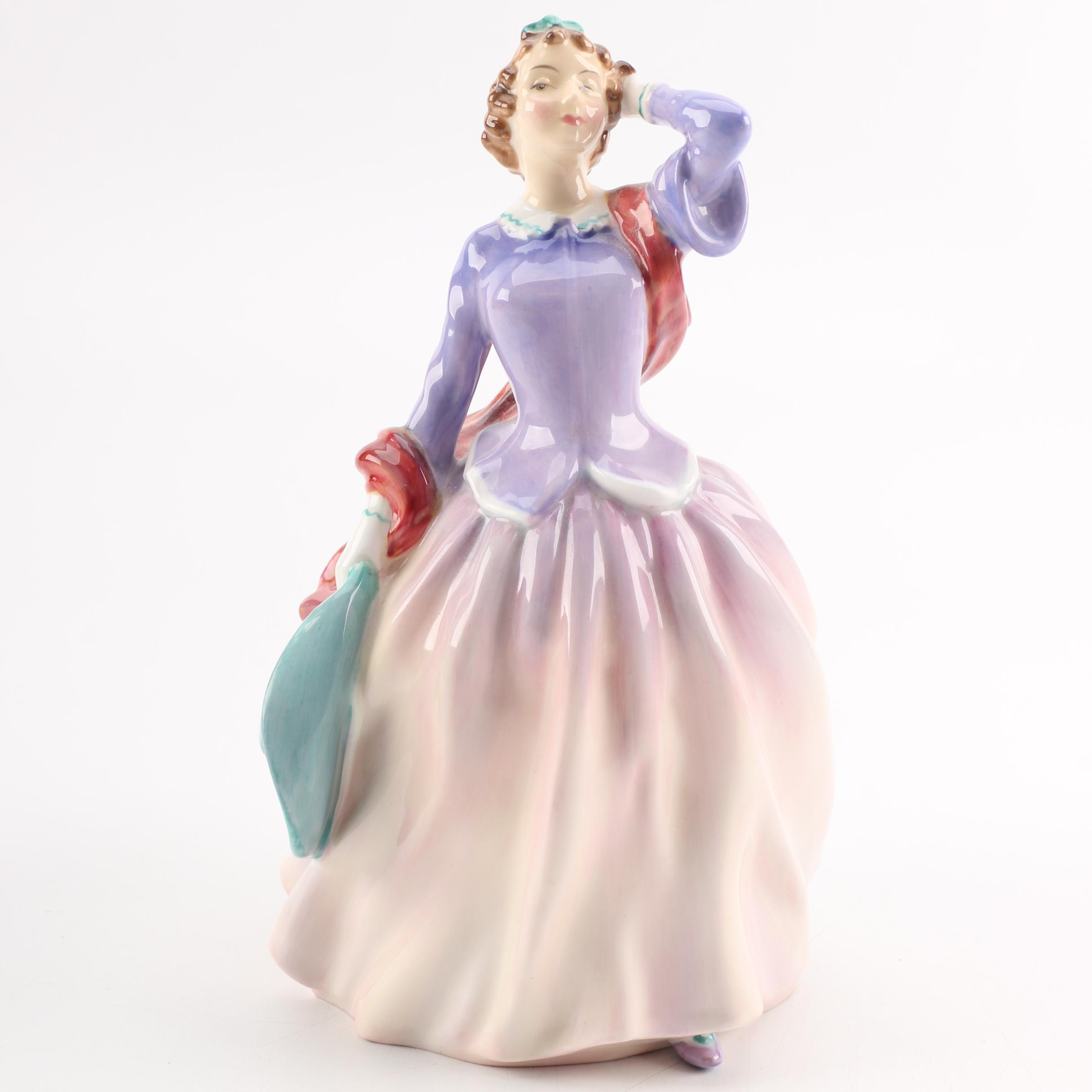 "Royal Doulton ""Blithe Morning"" Porcelain Figurine"