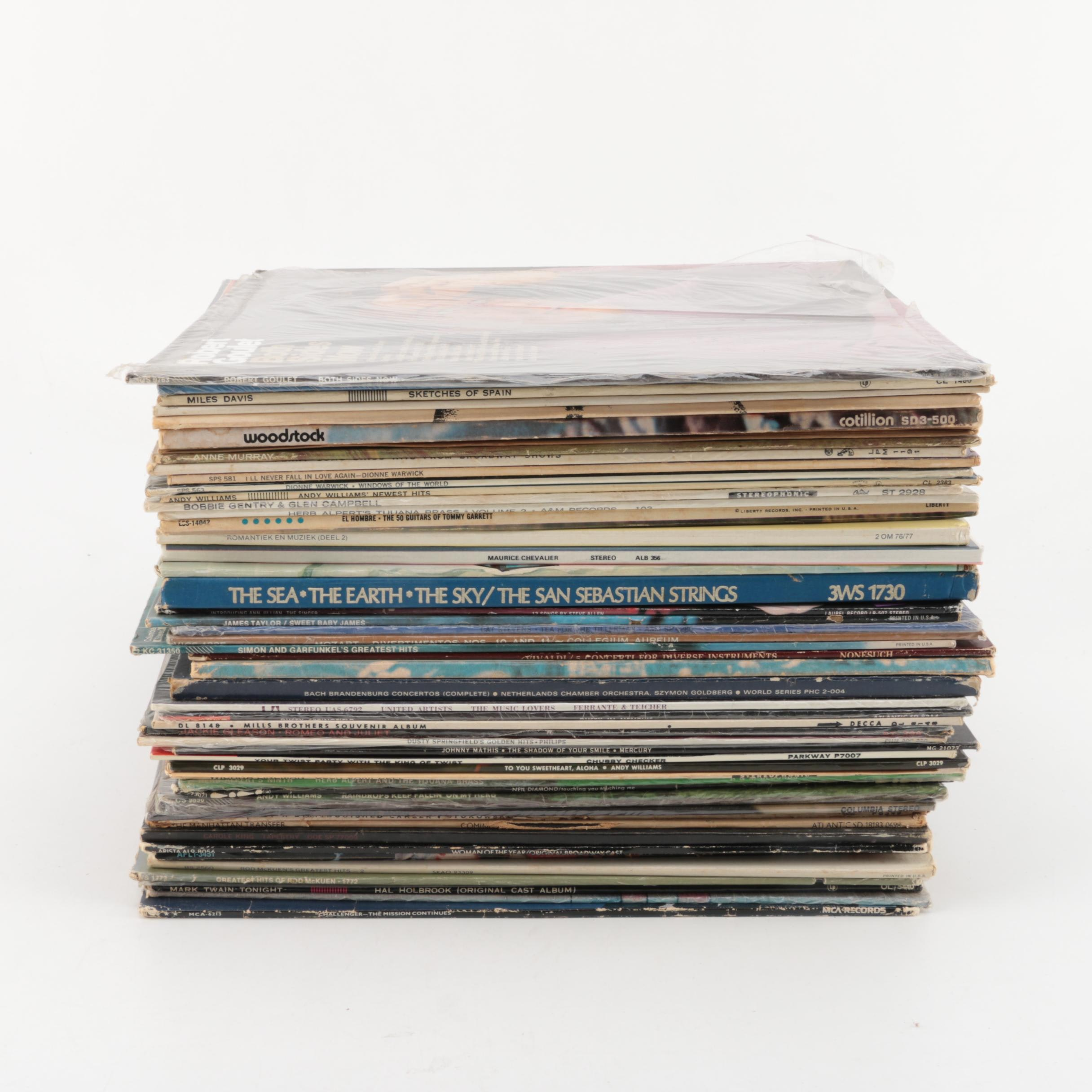 """Simon and Garfunkel, """"Woodstock"""" and Other Assorted Records"""