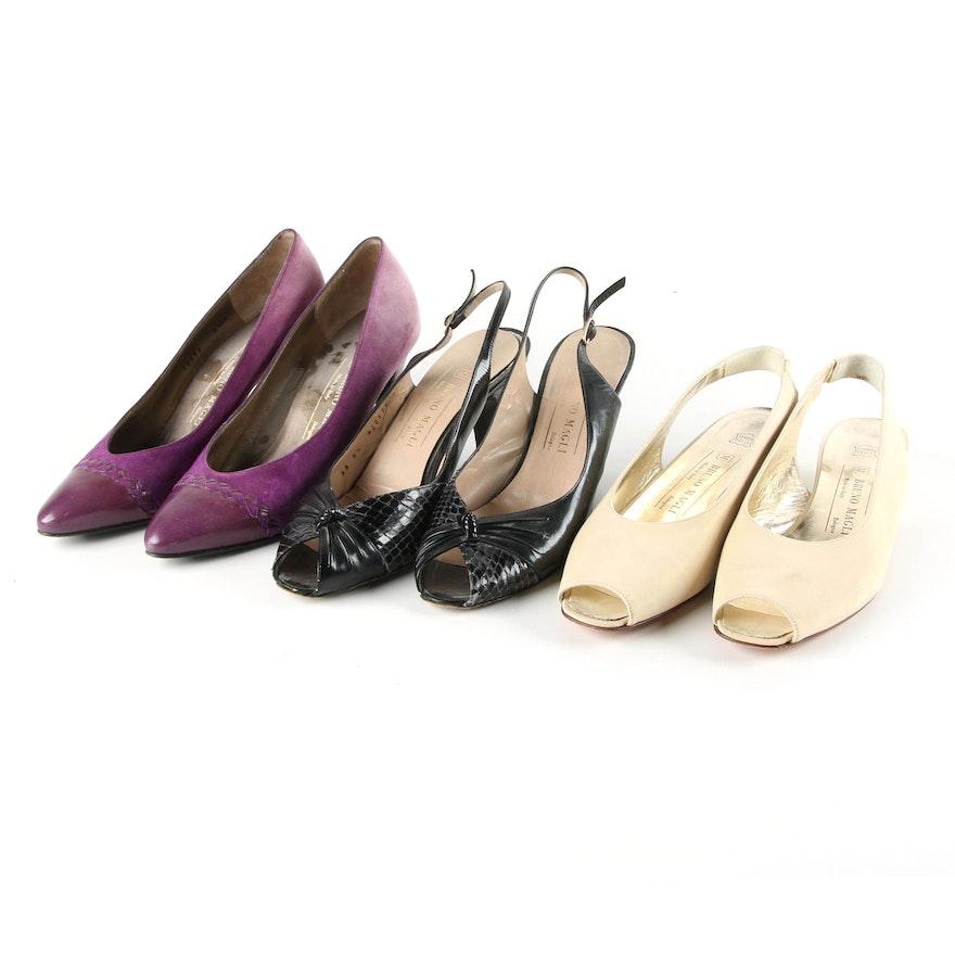 b7c021e9525 Women s Bruno Magli Dress Shoes Inclduing Peep Toe Slingbacks   EBTH