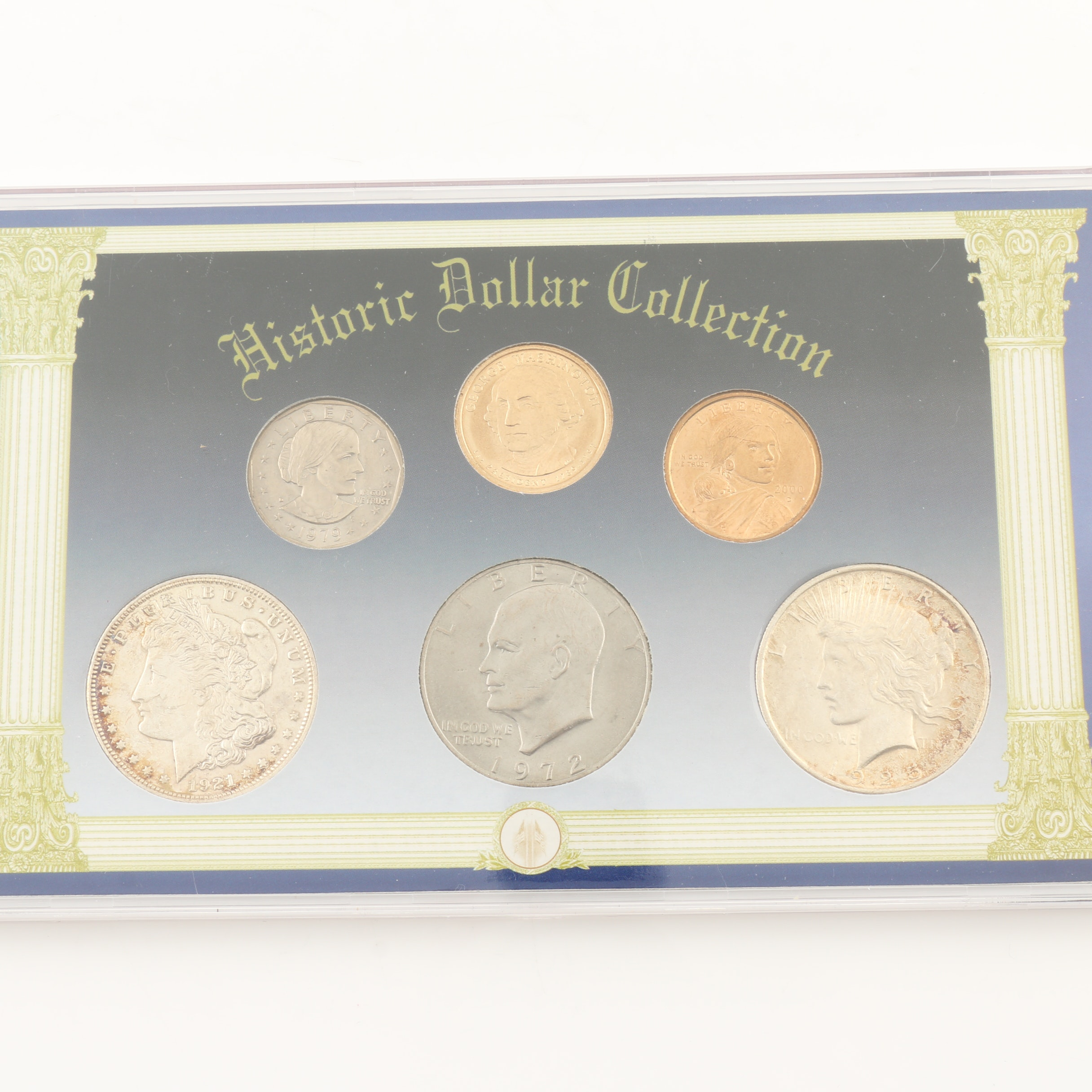 """""""Historic Dollar Collection"""" U.S. Coin Set"""