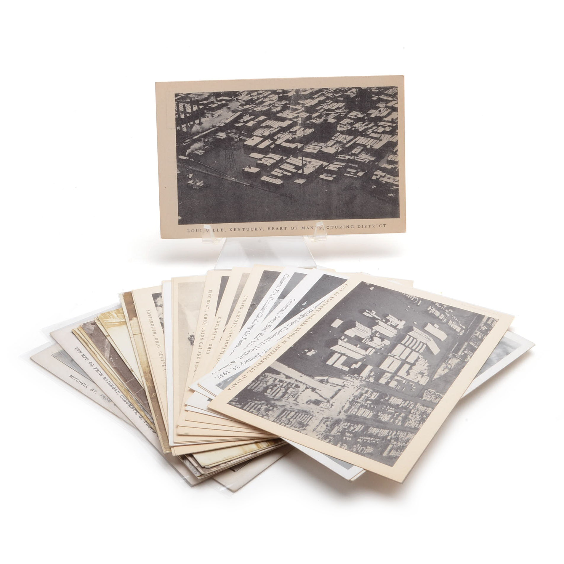 Vintage Postcards of The Great Flood of 1913
