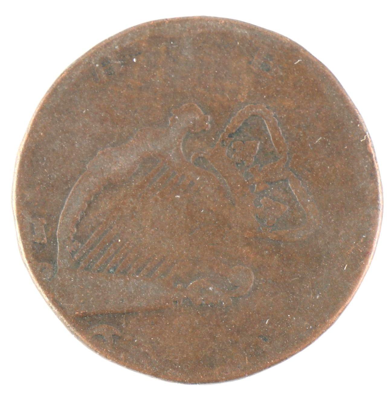 1760's Ireland Half Penny