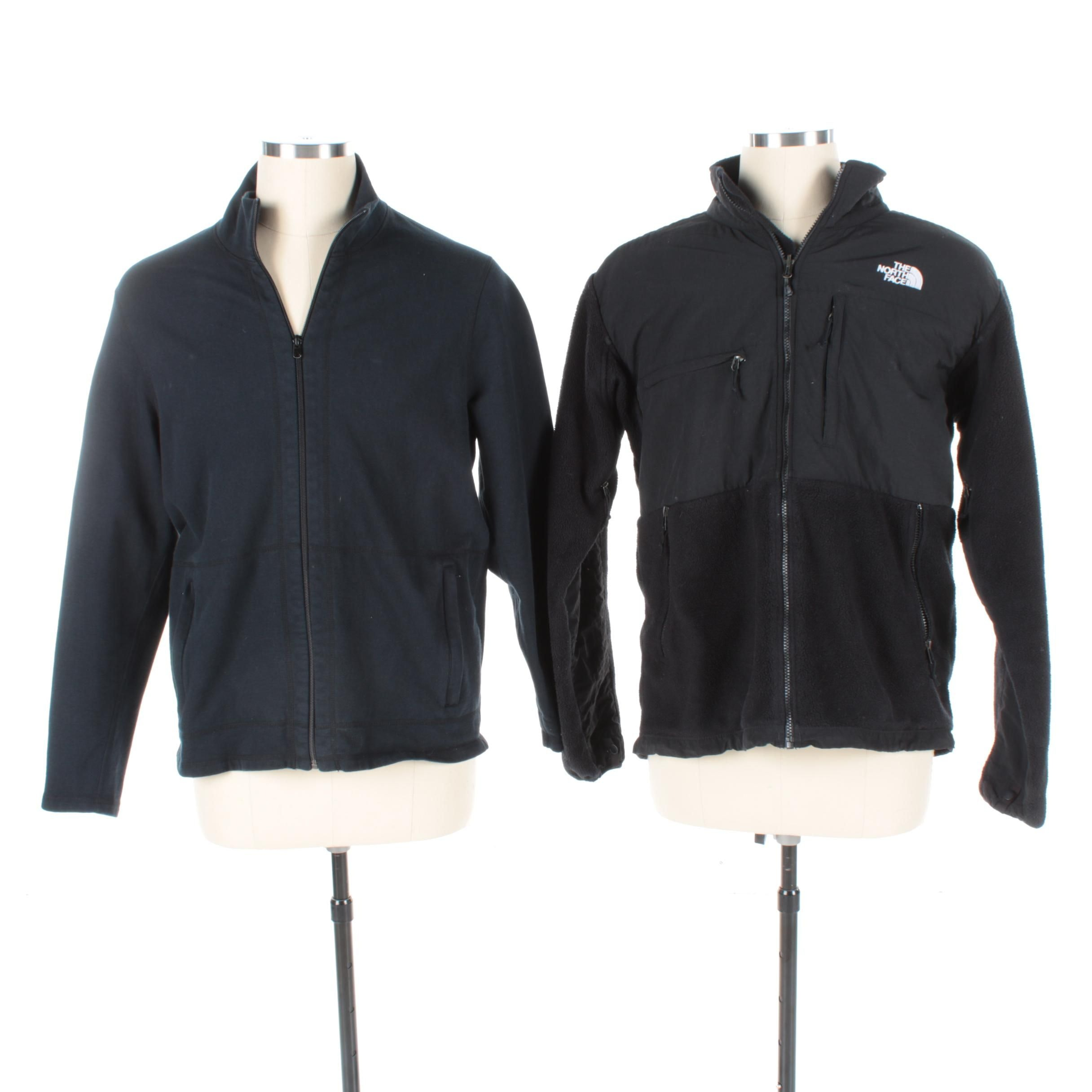 Men's The North Face and DKNY Zip Up Jackets