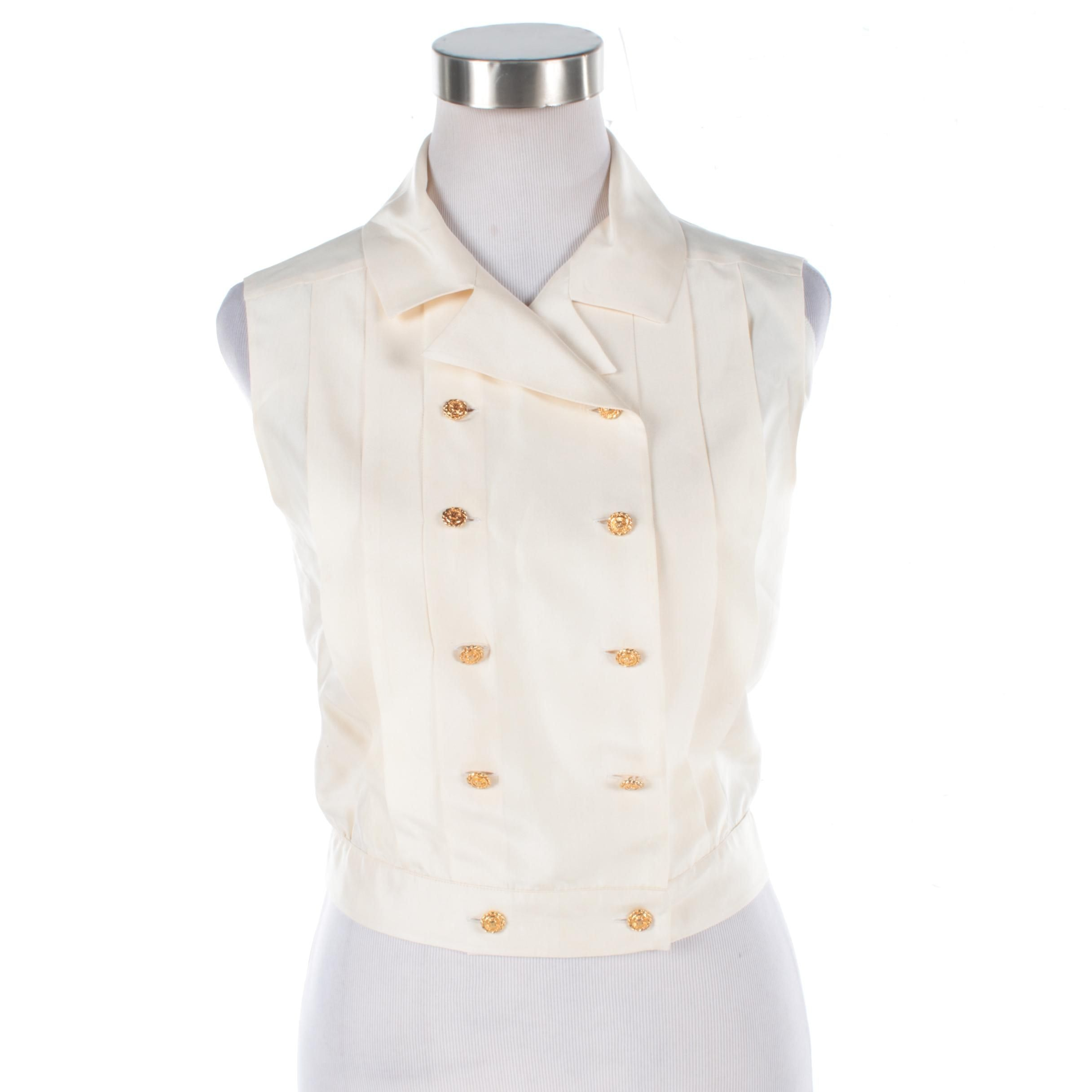 Women's Chanel Boutique Silk Top