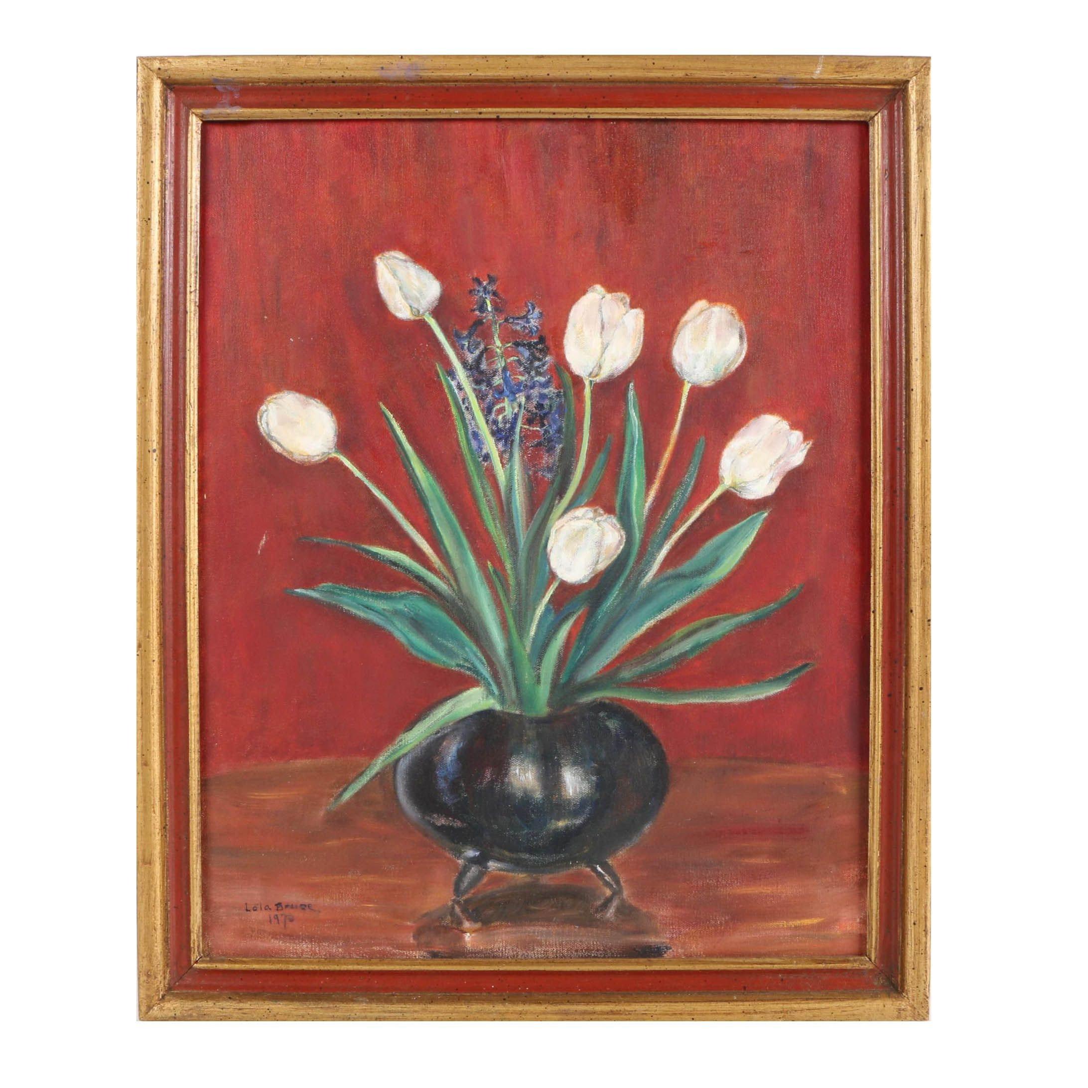 Lola Bruce Acrylic Painting