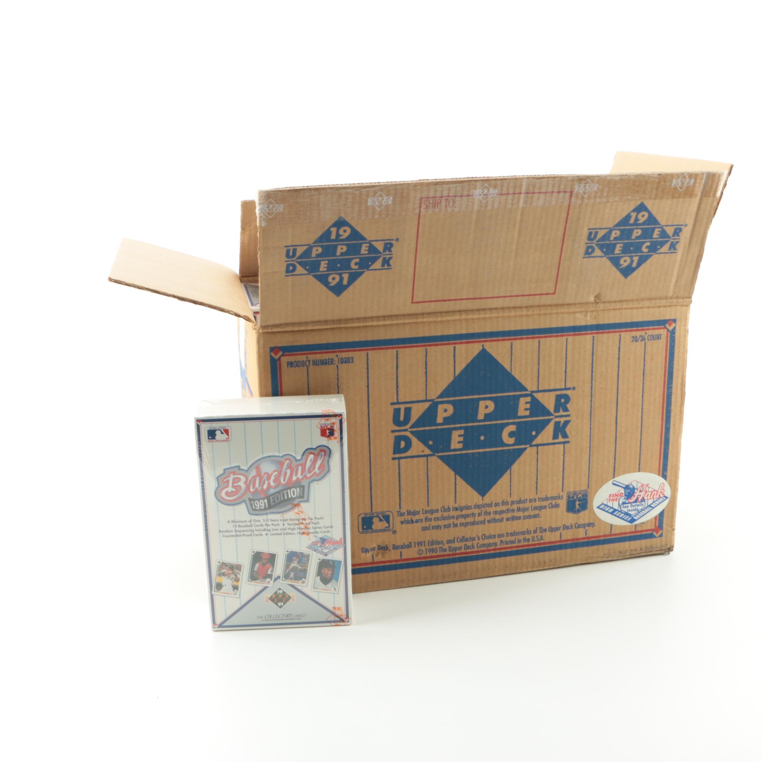 1991 Upper Deck Baseball Cards