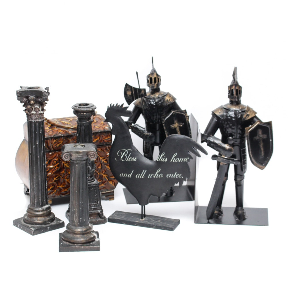 Decorative Metal Home Accents