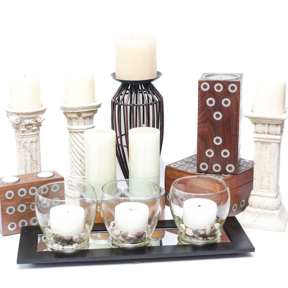 Decorative Candle Collection