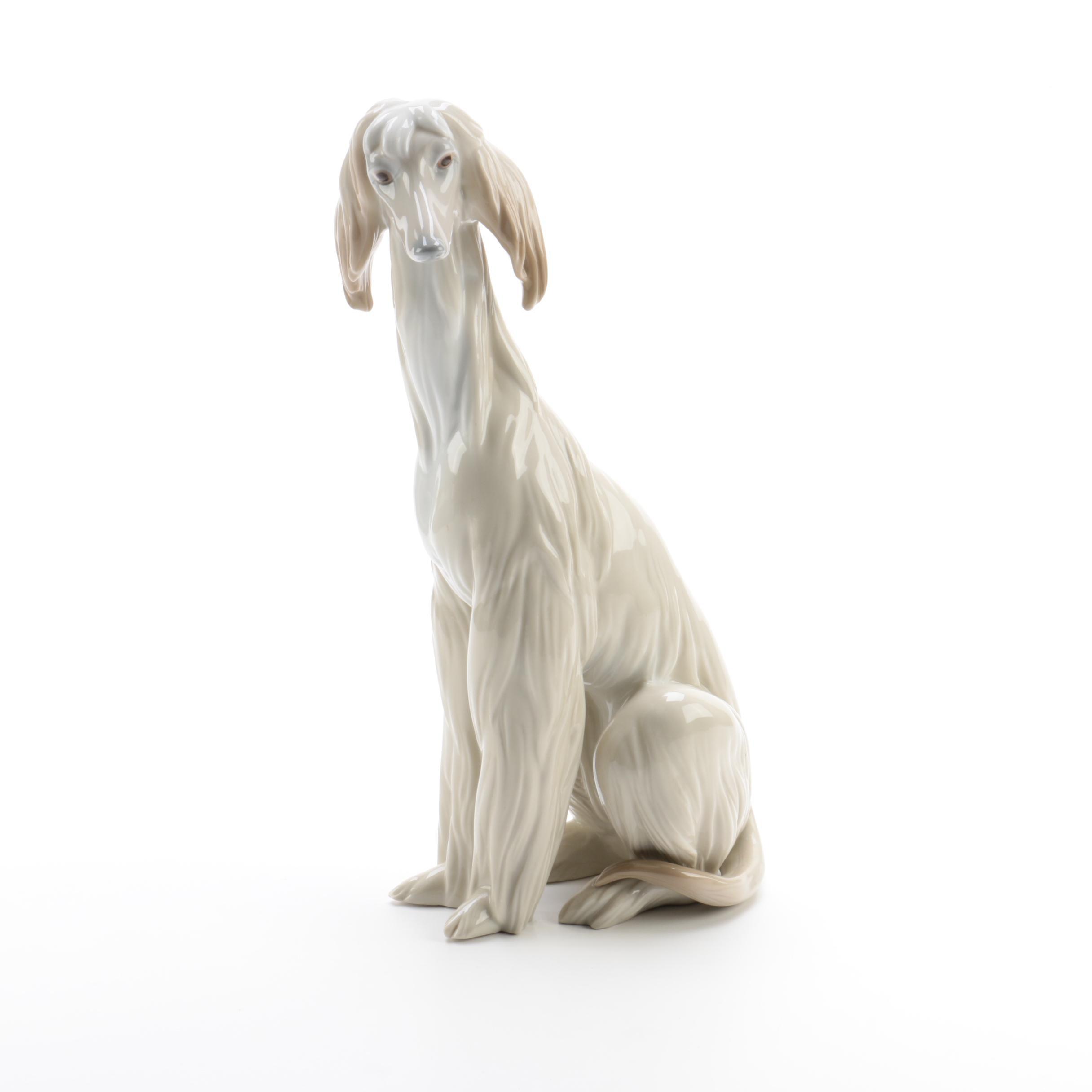 "Lladró "" Afghan Hound"" #1069 Figurine"