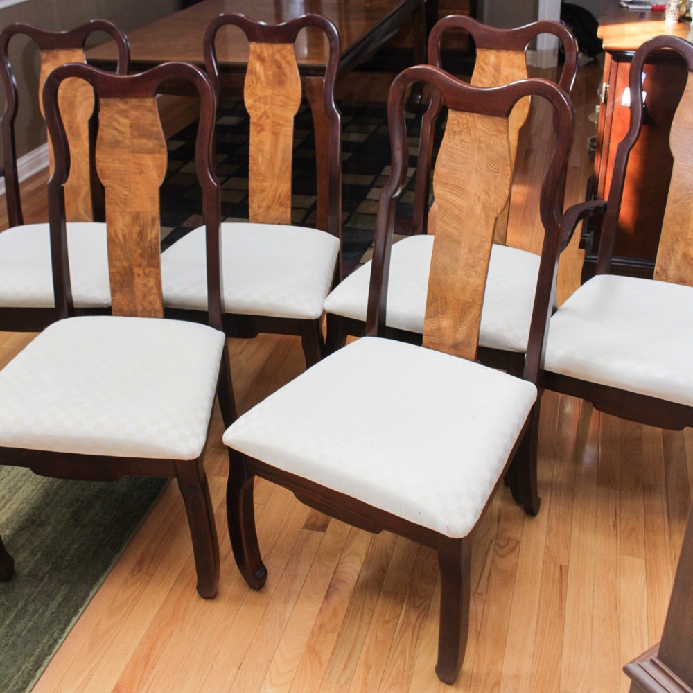 Universal Furniture Veneer Accent Dining Chairs