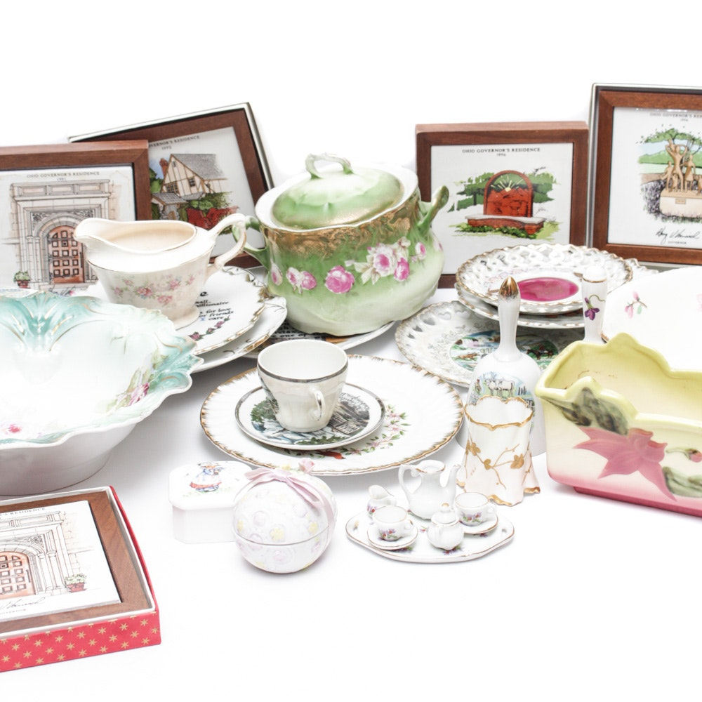 Vintage and Contemporary Decorative Ceramics