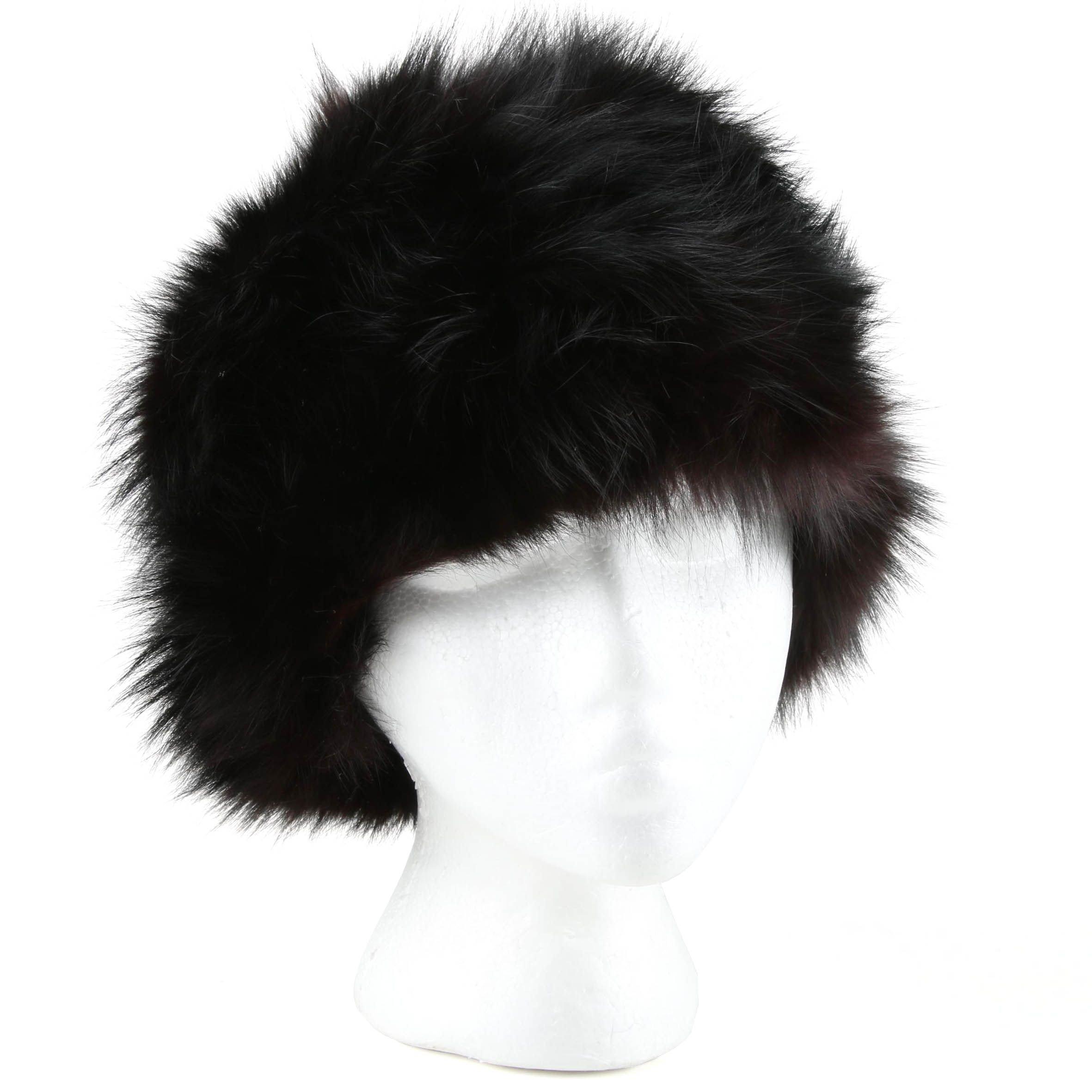Vintage Saks Fifth Avenue Fox Fur Hat