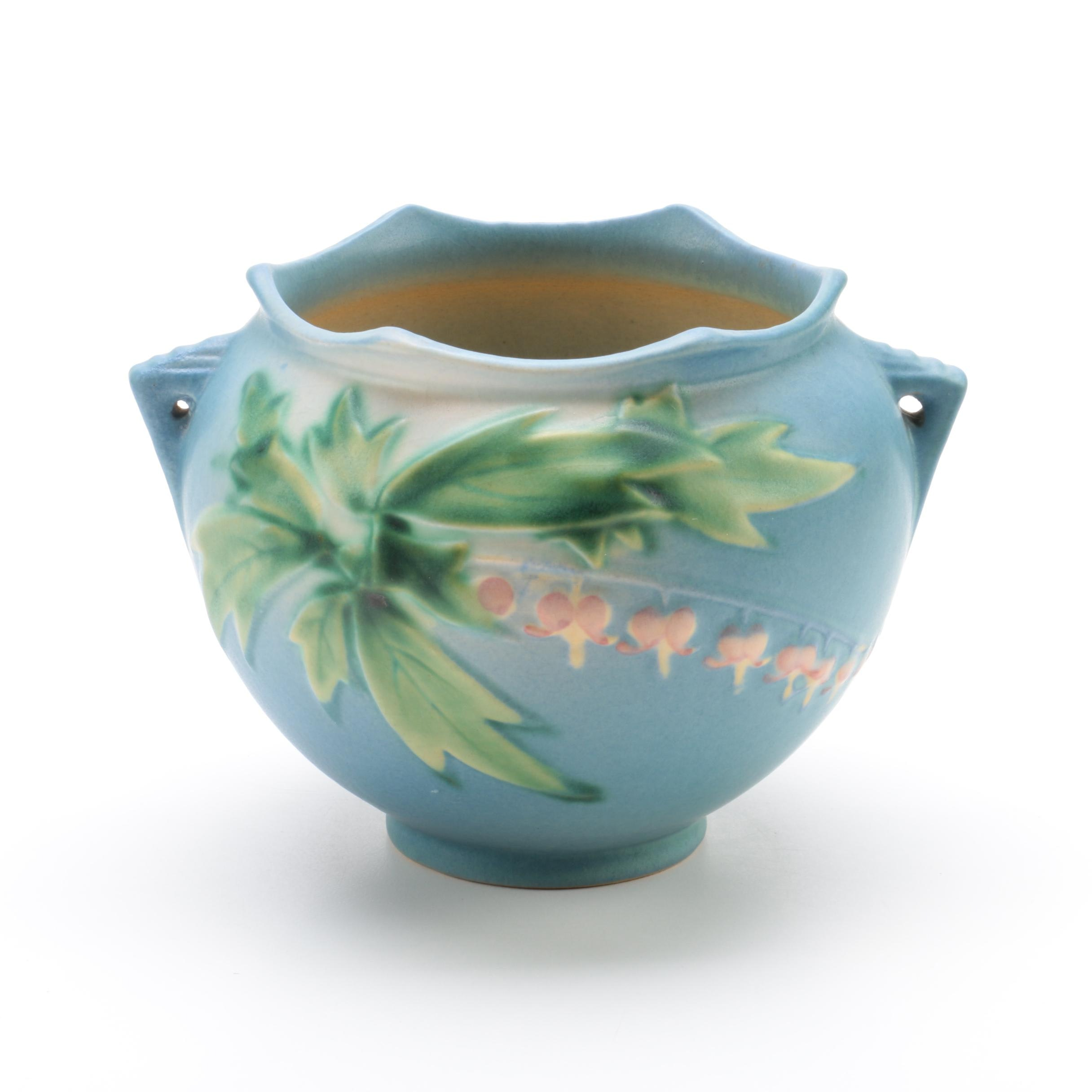 "Roseville Pottery ""Bleeding Heart"" Jardiniere"