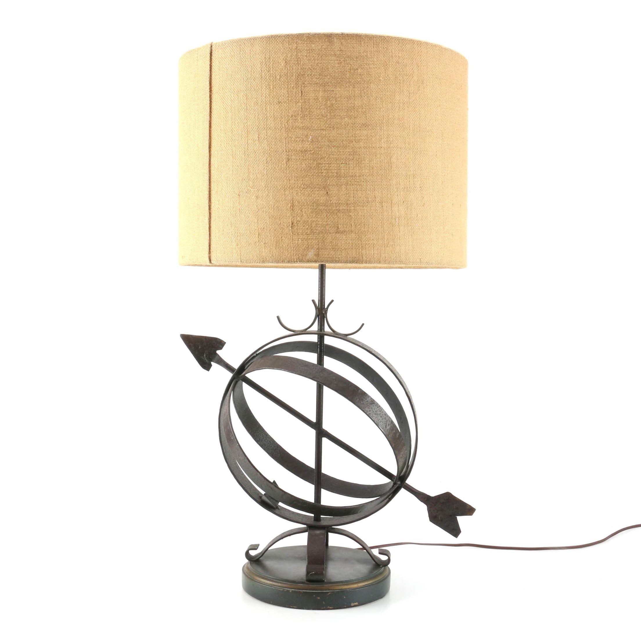 Cindy Ciskowski Los Angeles Armillary Sphere Accent Lamp