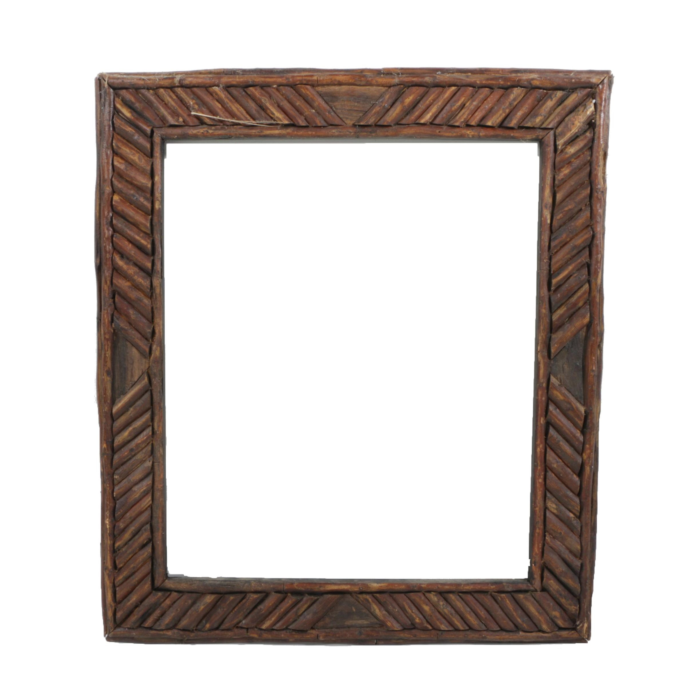 Wooden Twig Picture Frame