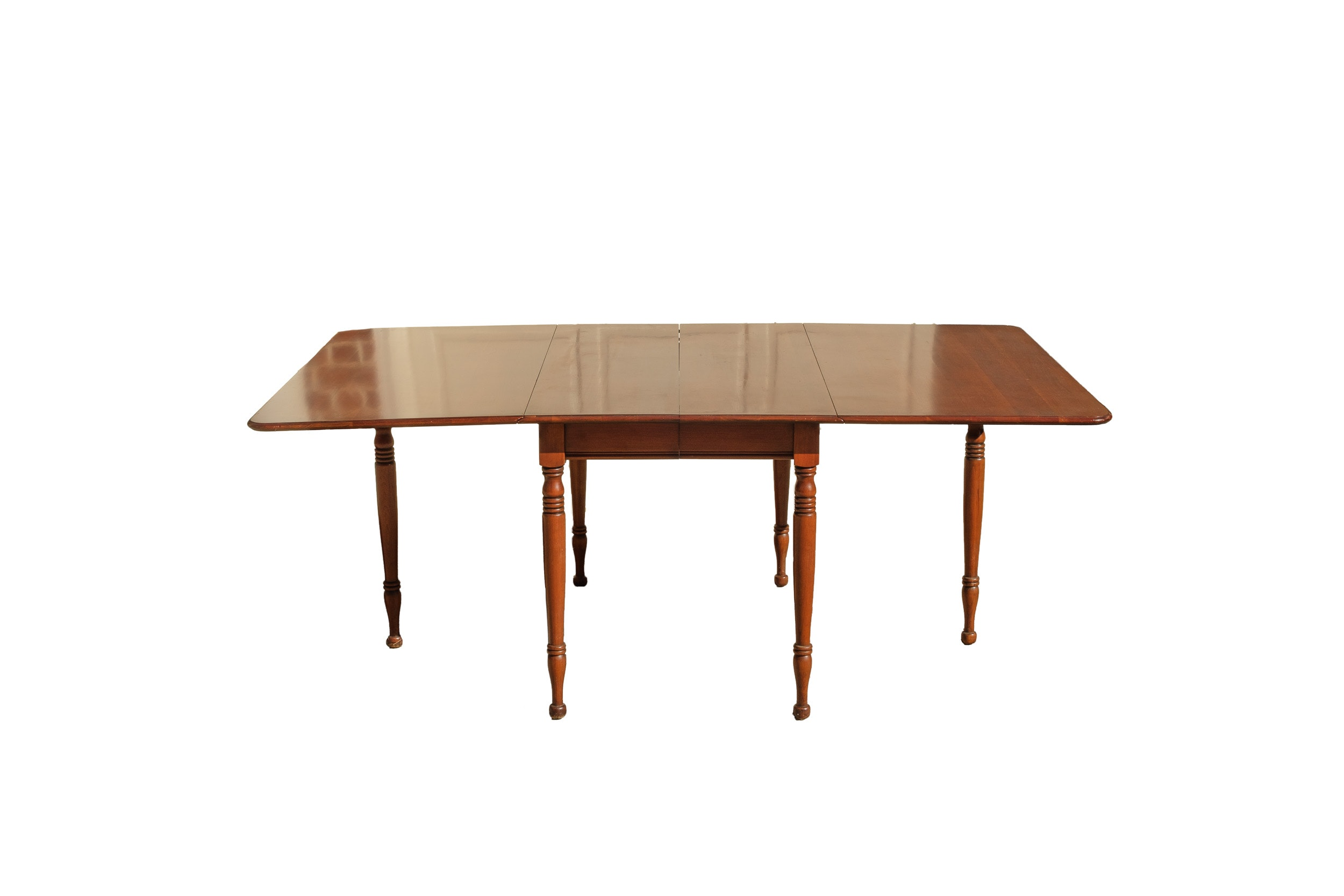 Vintage Cherry Drop-Leaf Dining Table