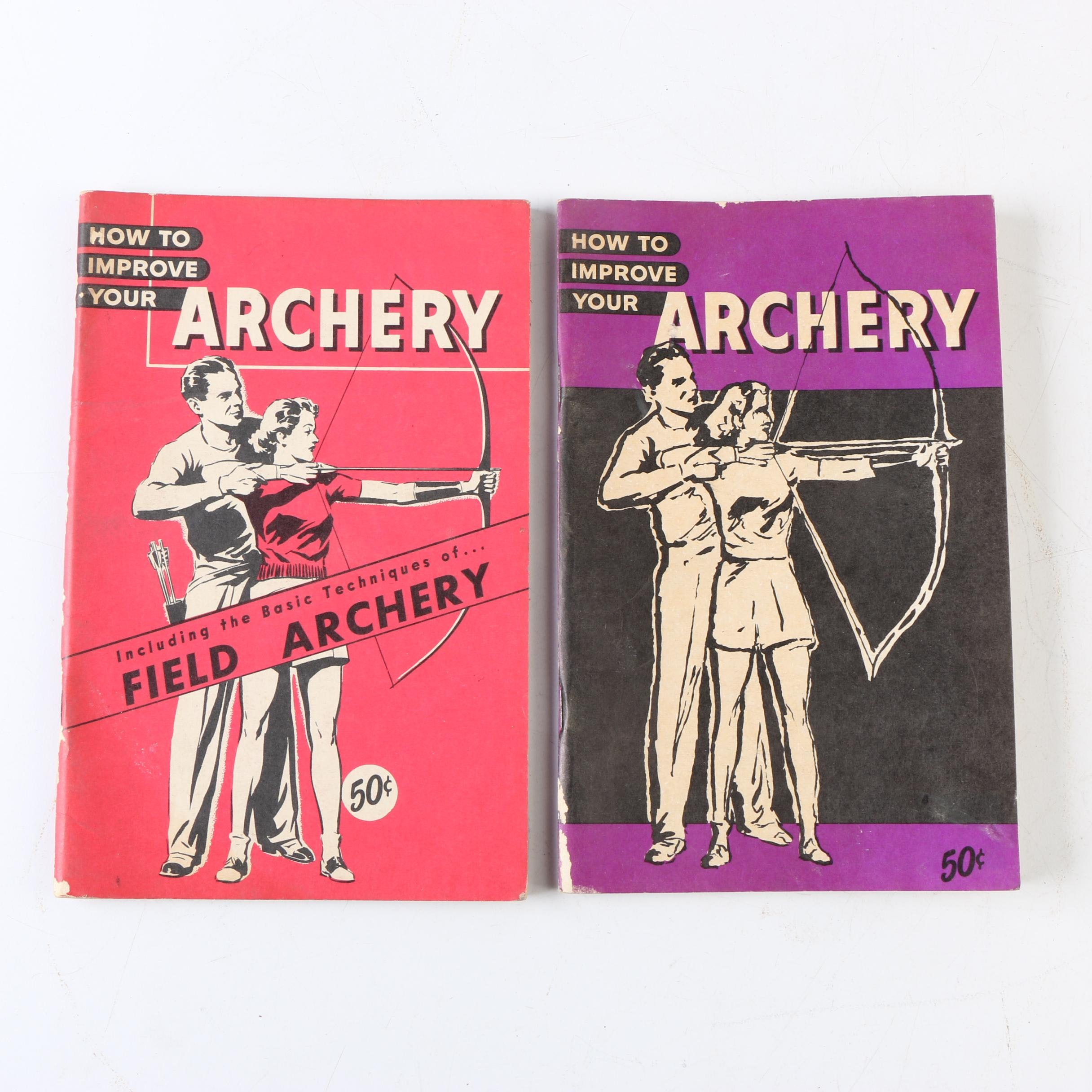 "Vintage ""How To Improve Your Archery"" Booklets"