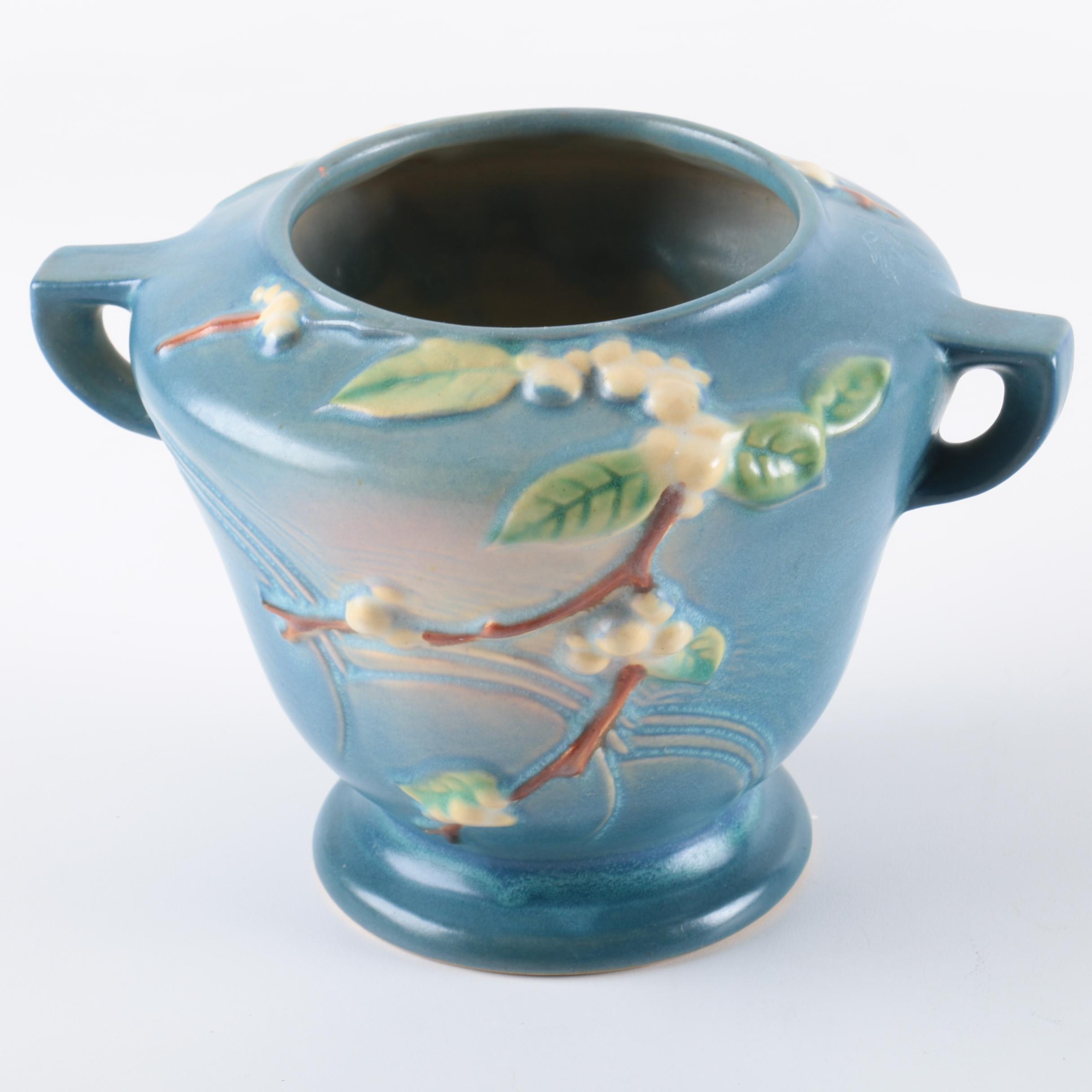 "Roseville Pottery ""Snowberry"" Jardinière"