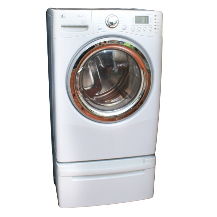 LG Front-Load Electric Steam Dryer