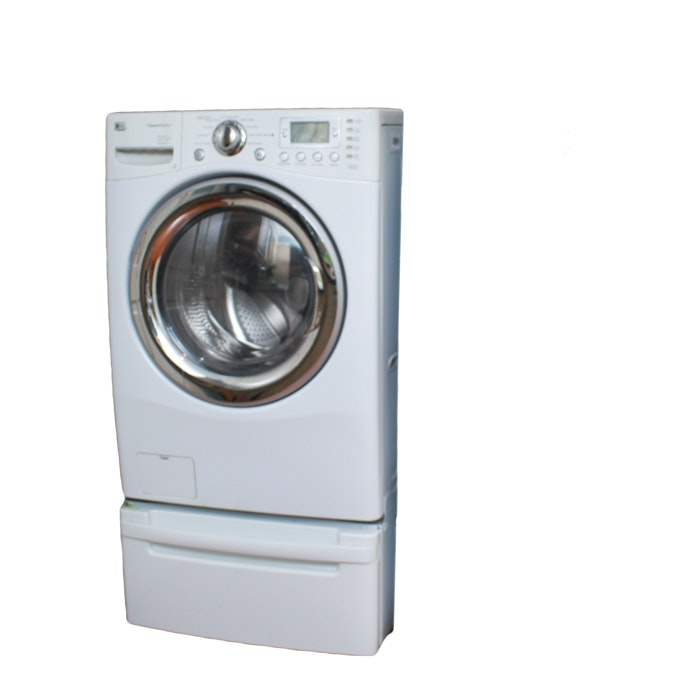 LG Front-Load Steam Washer