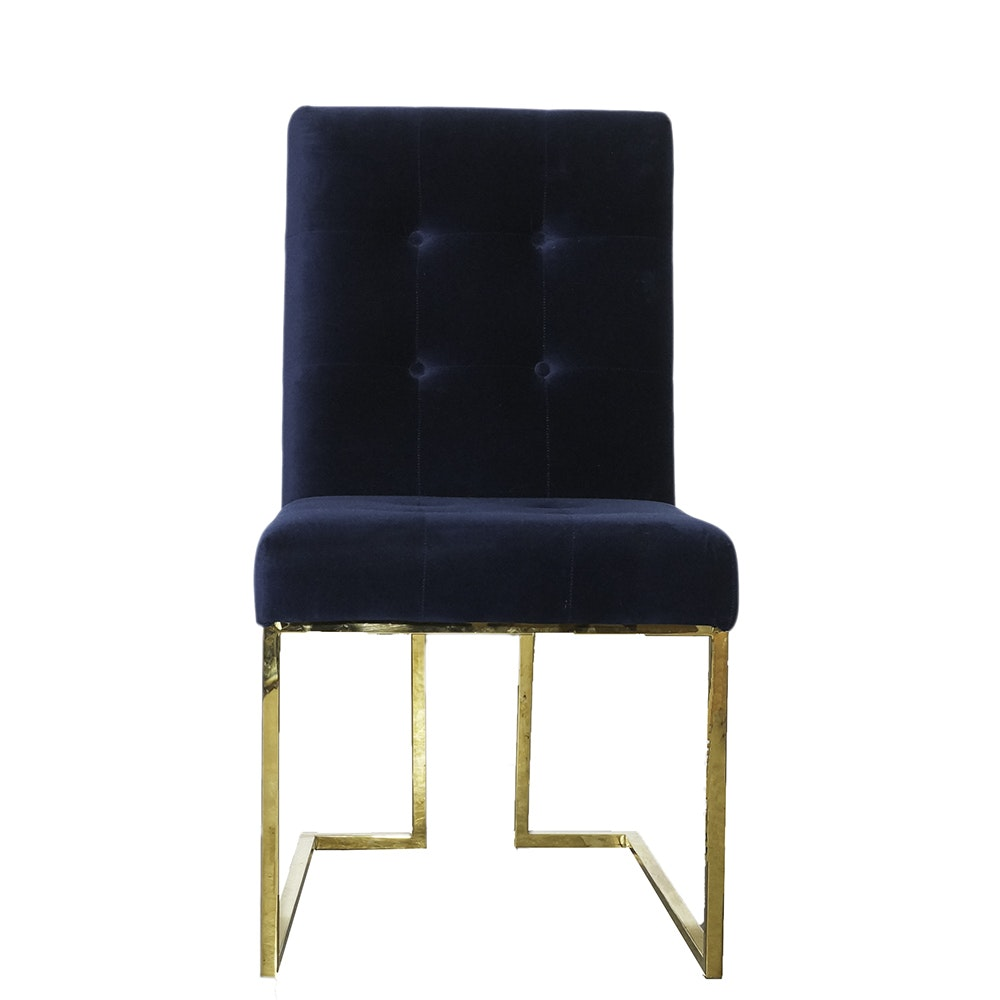 """Jonathan Adler """"Goldfinger"""" Dining Chair"""