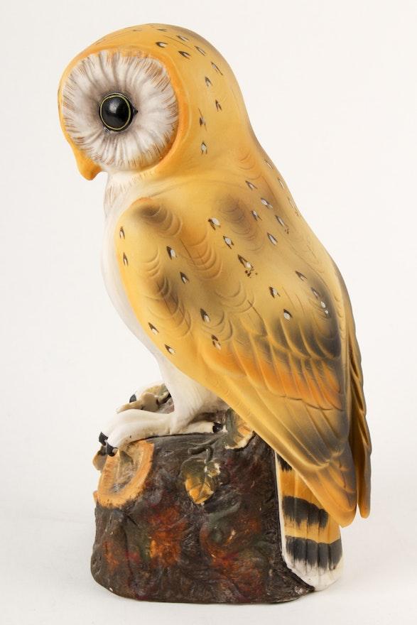 Royal Crown Quot Barn Owl Quot Figurine Ebth