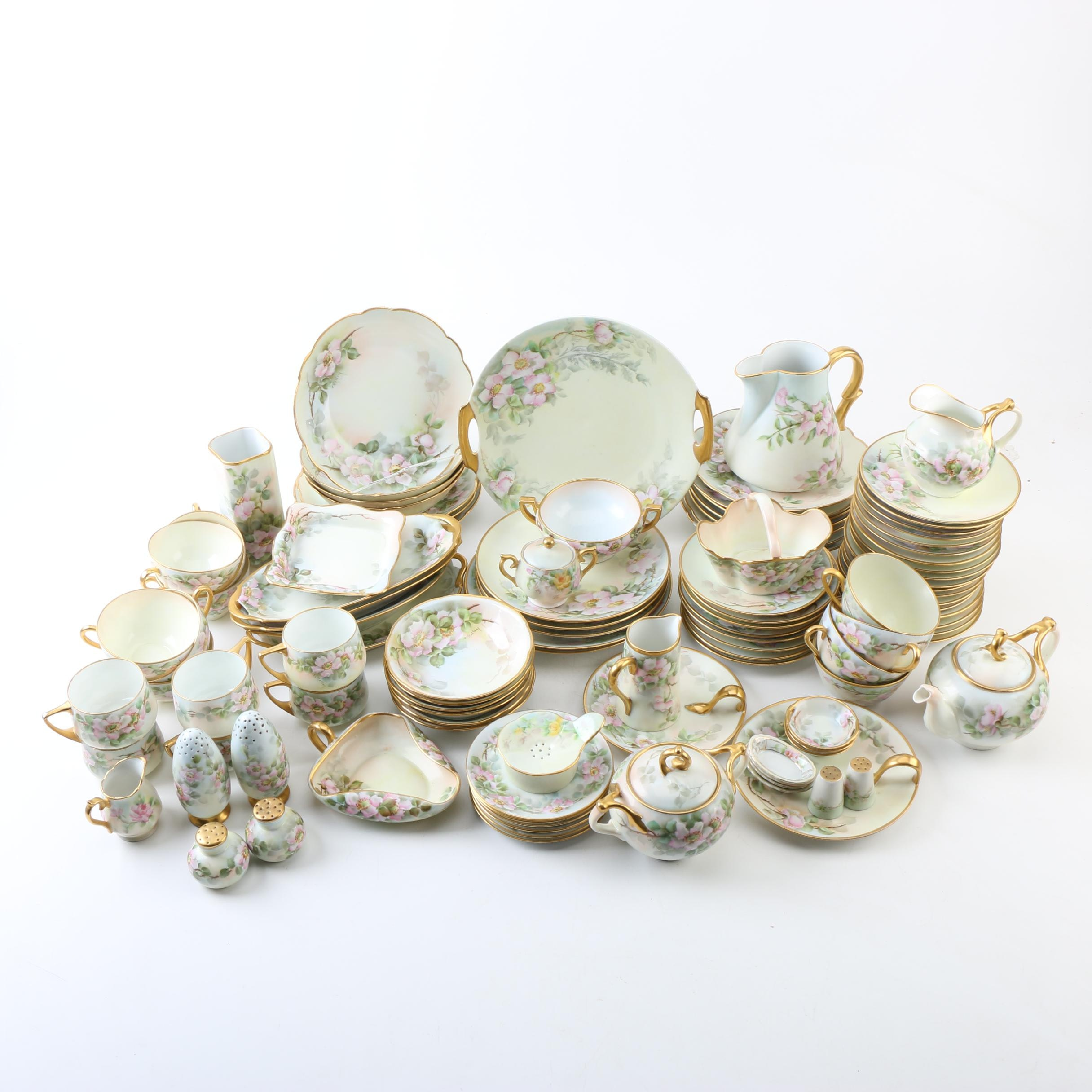 Antique and Vintage Hobbyist Hand-painted Porcelain Tableware